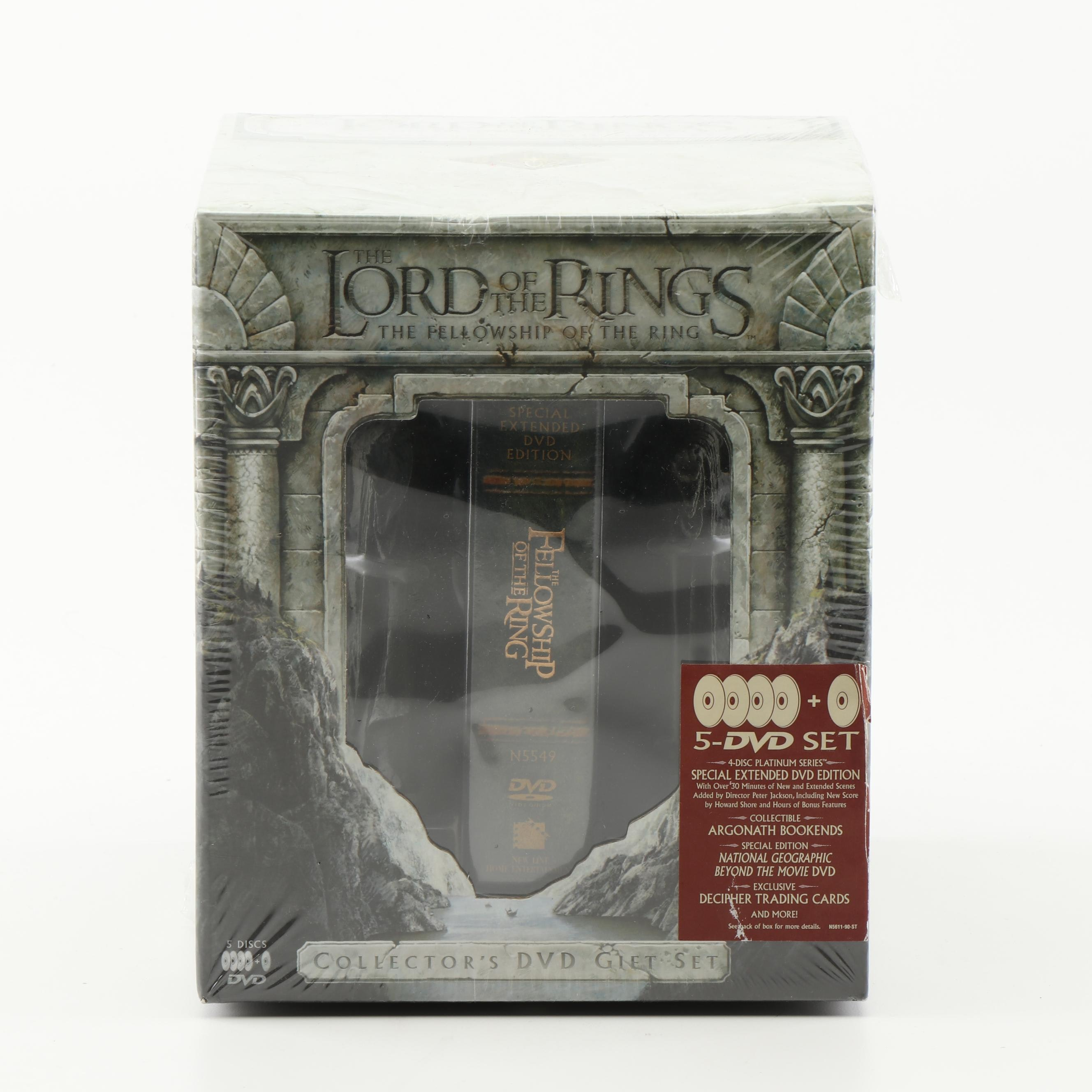 """""""The Lord of The Rings: The Fellowship of the Ring"""" Collector's DVD Gift Set"""