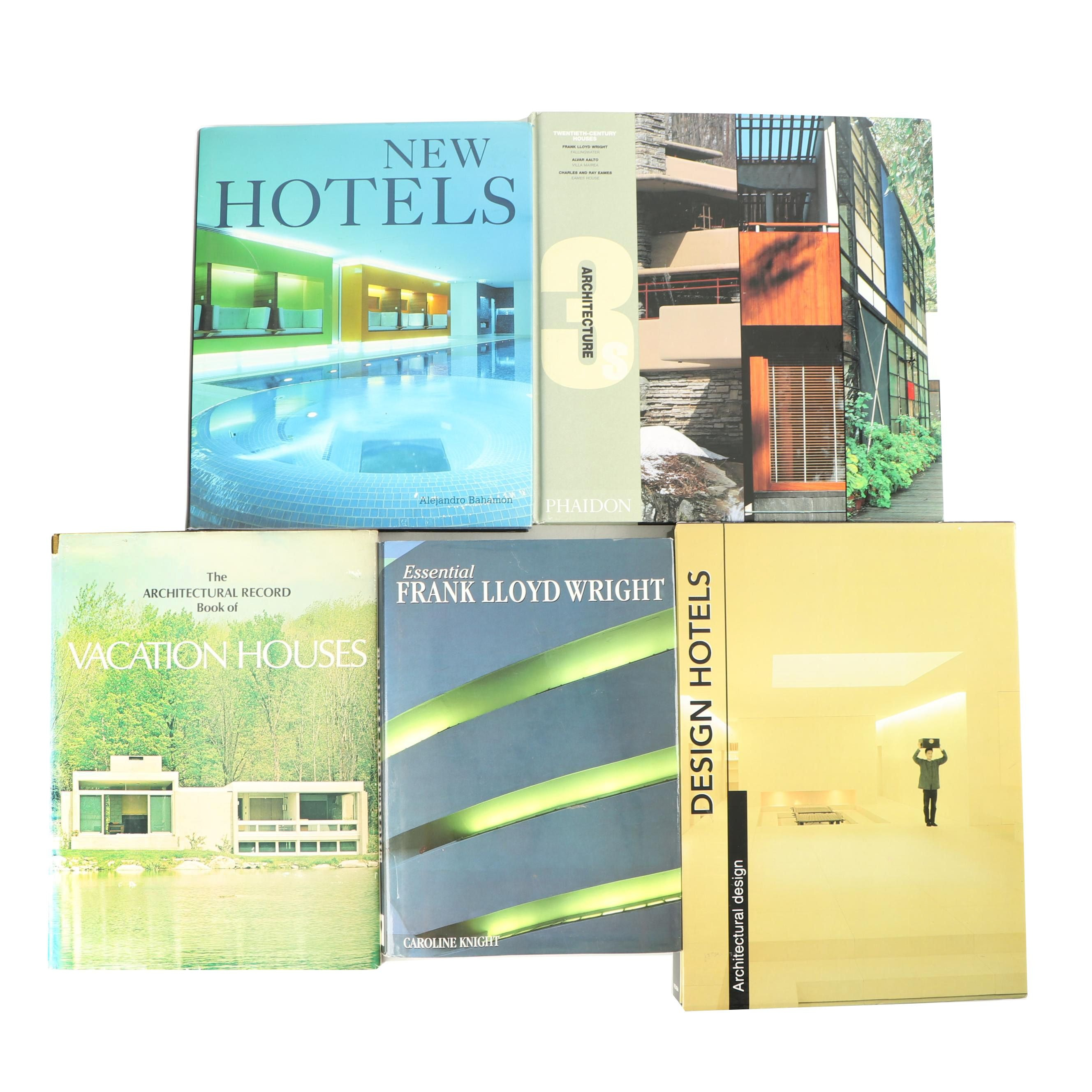 Architectural Design Books including Twentieth-Century Housing