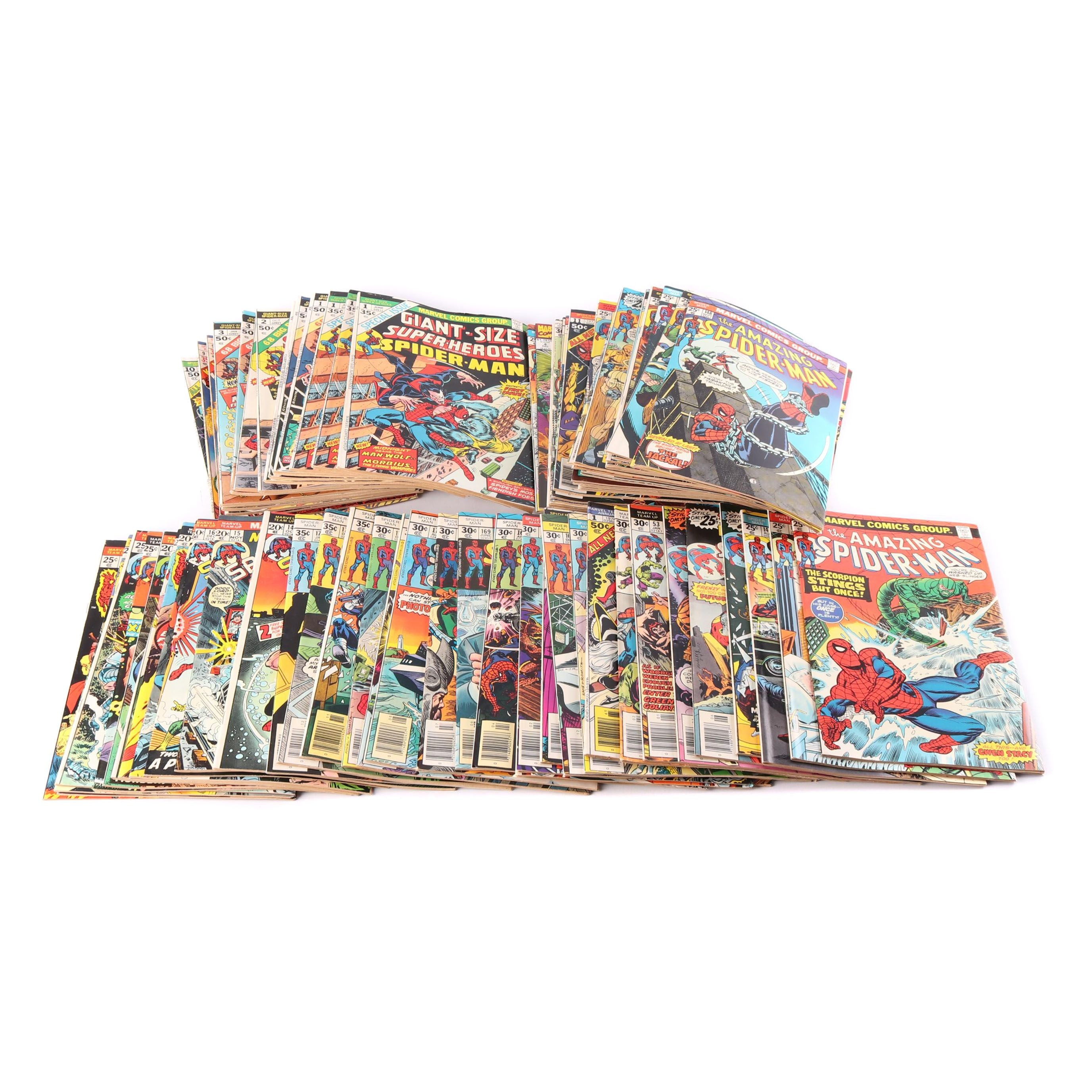 "Bronze Age ""Spider-Man"" Comic Books"