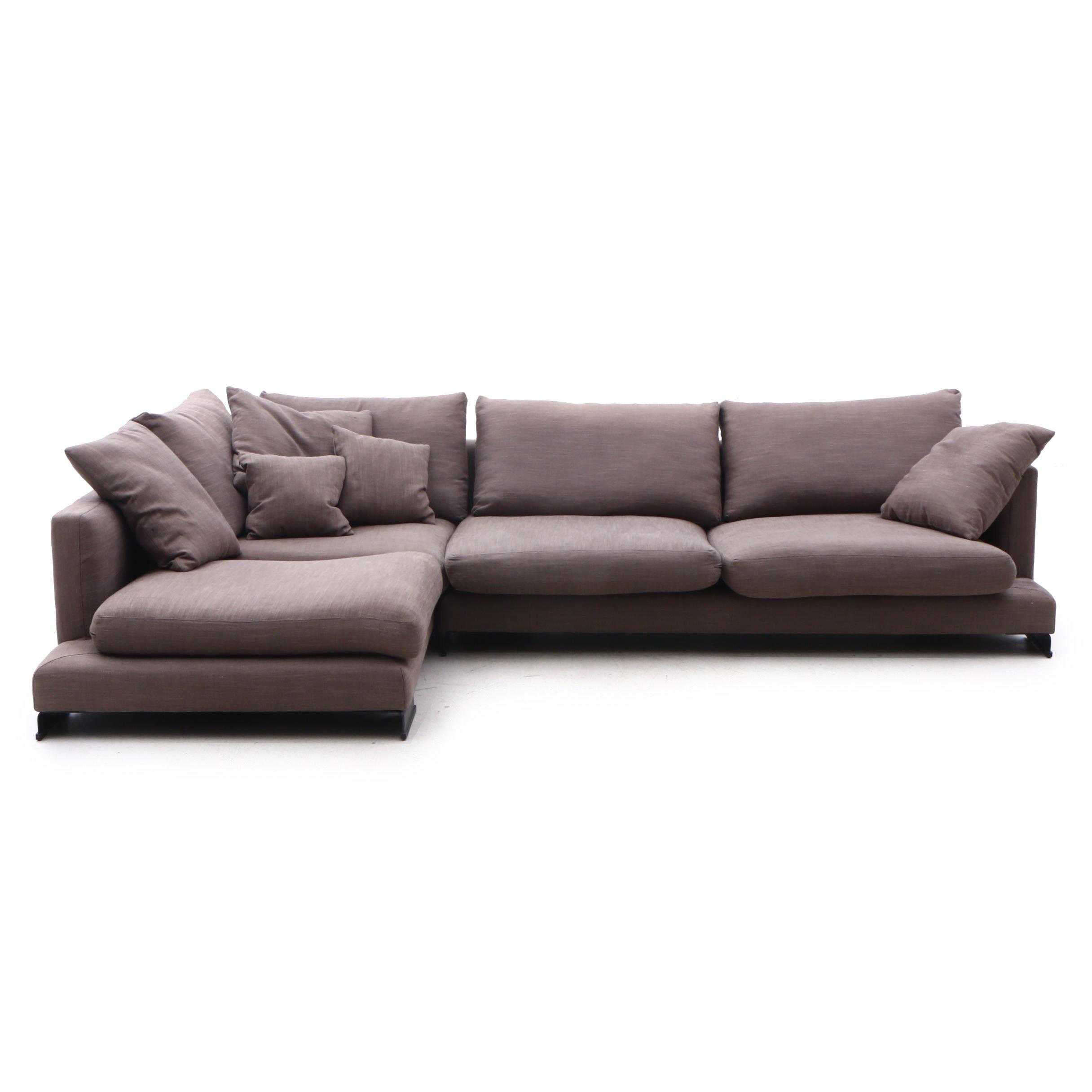 Modernist Sectional Sofa, Contemporary