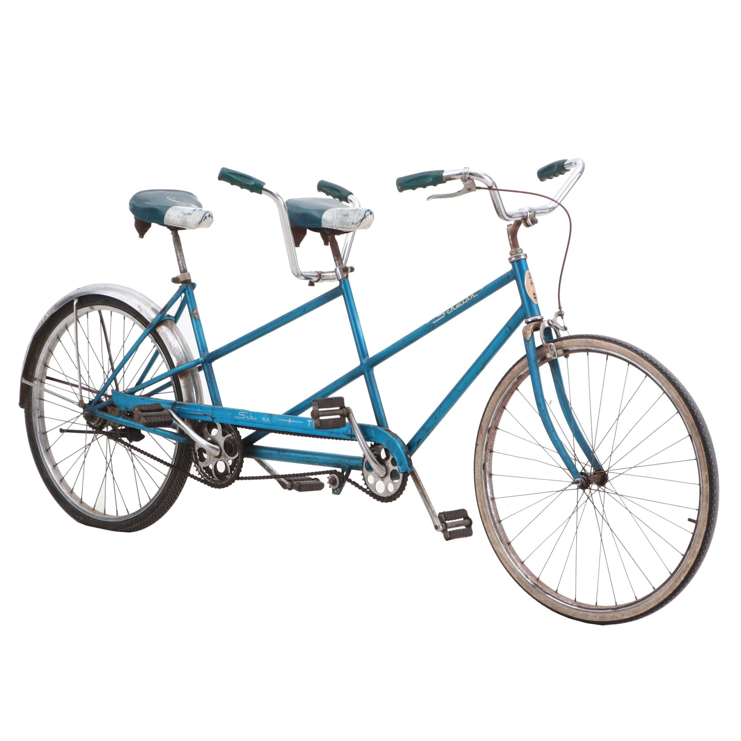 Vintage Schwinn Two-Seat Bicycle