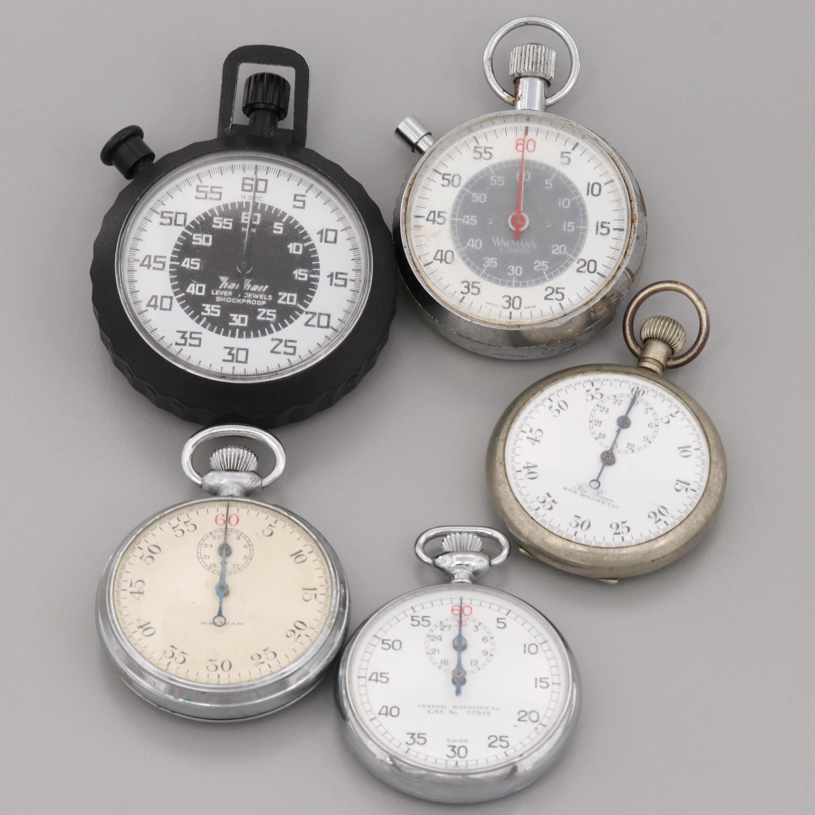 Assorted Pendant Wind Stop Watches