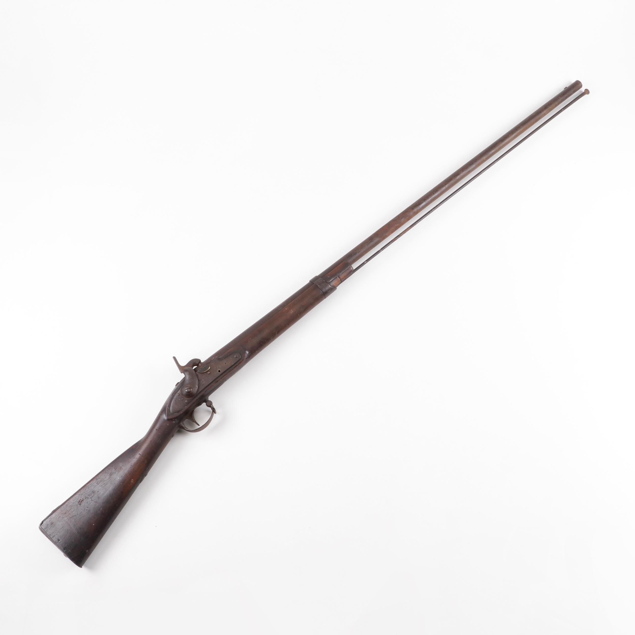 M1812 Harpers Ferry Percussion Conversion Musket, dated 1857