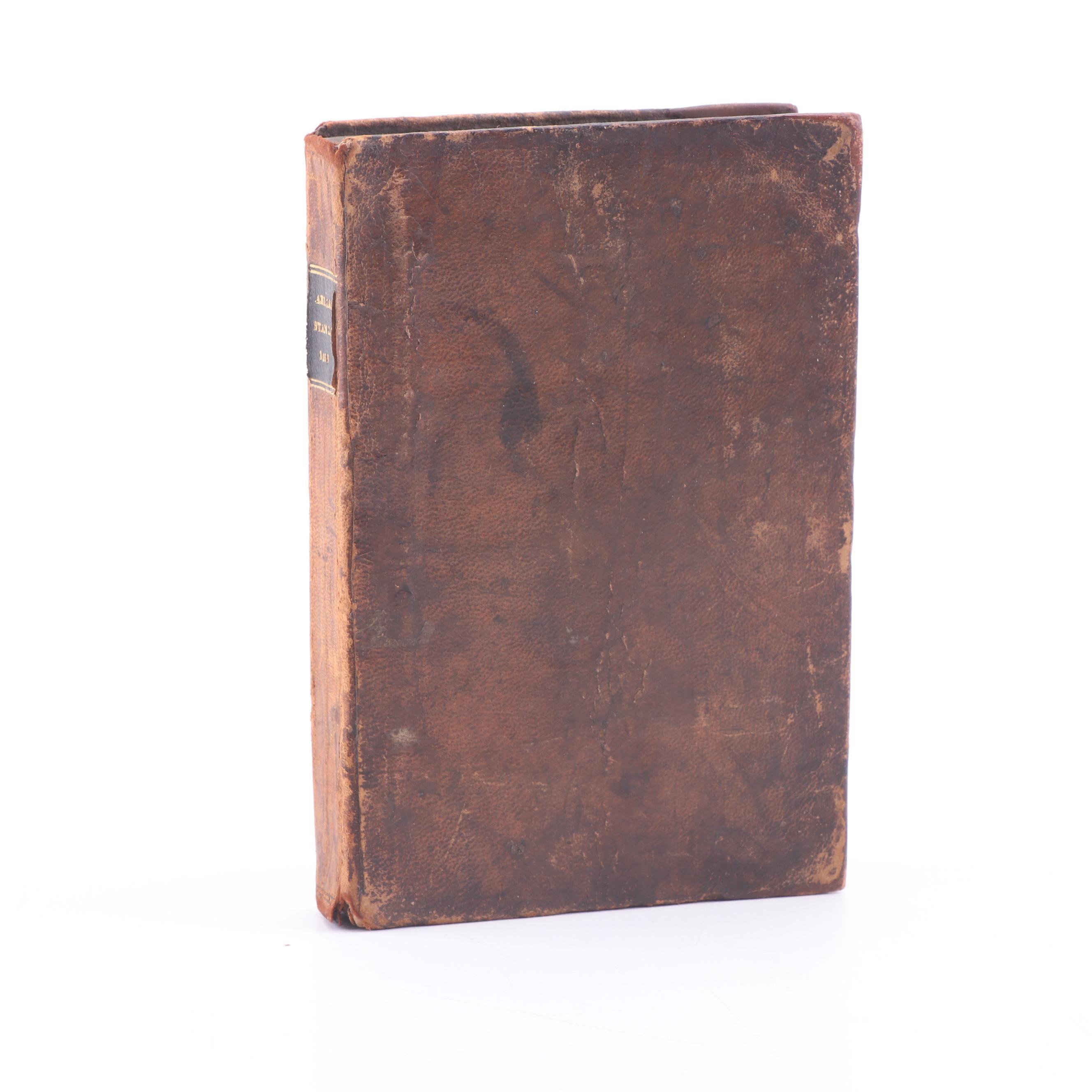 "1666 Latin ""His Various History"" by Claudius Aelianus"