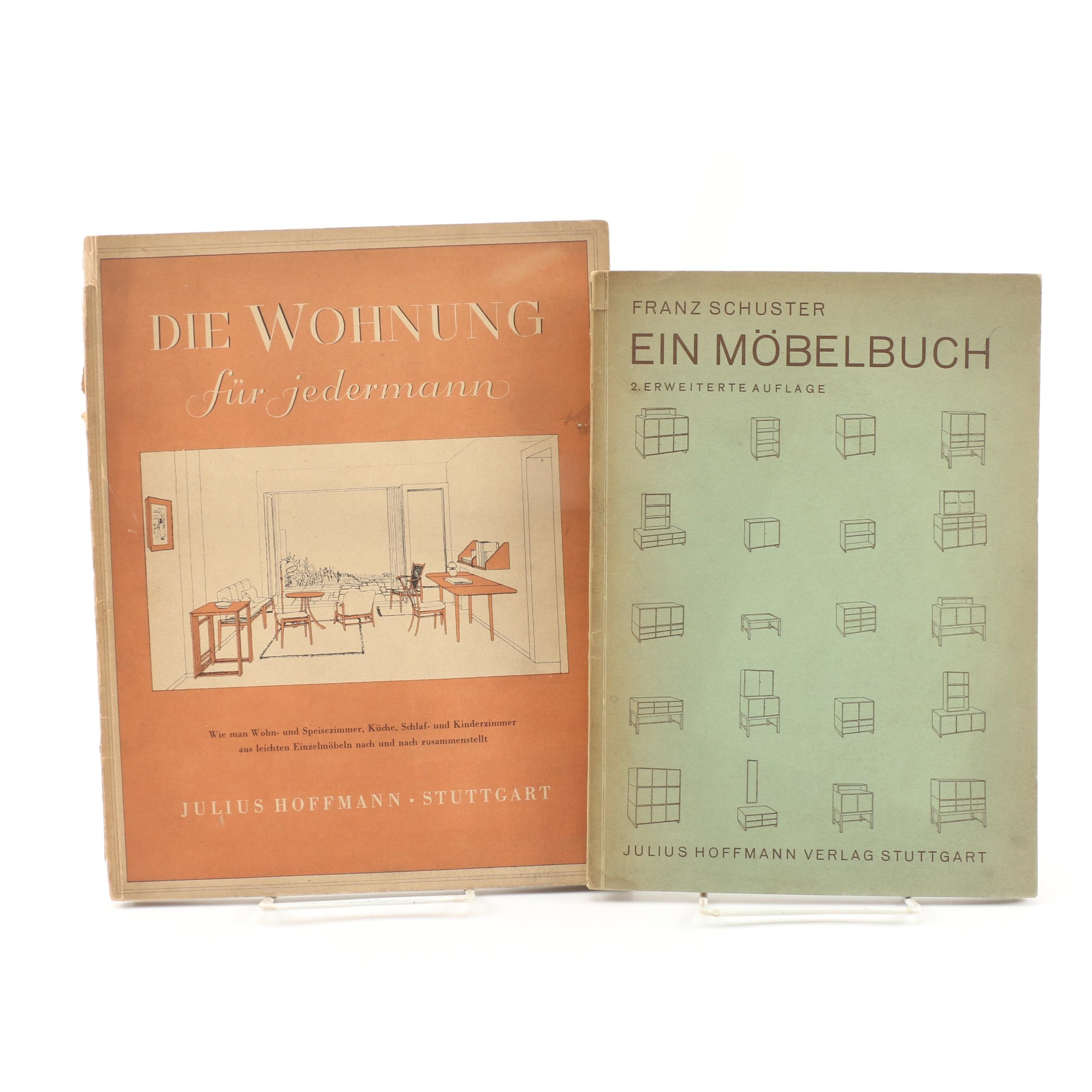 German-Language Furniture and Design Books, 1932–1933