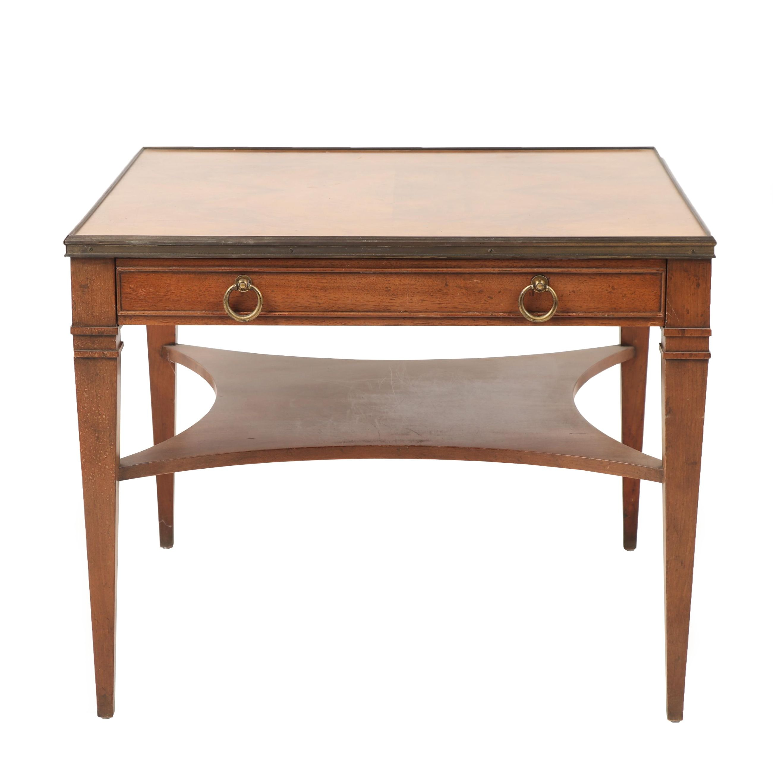 Baker Furniture Wooden Side Table