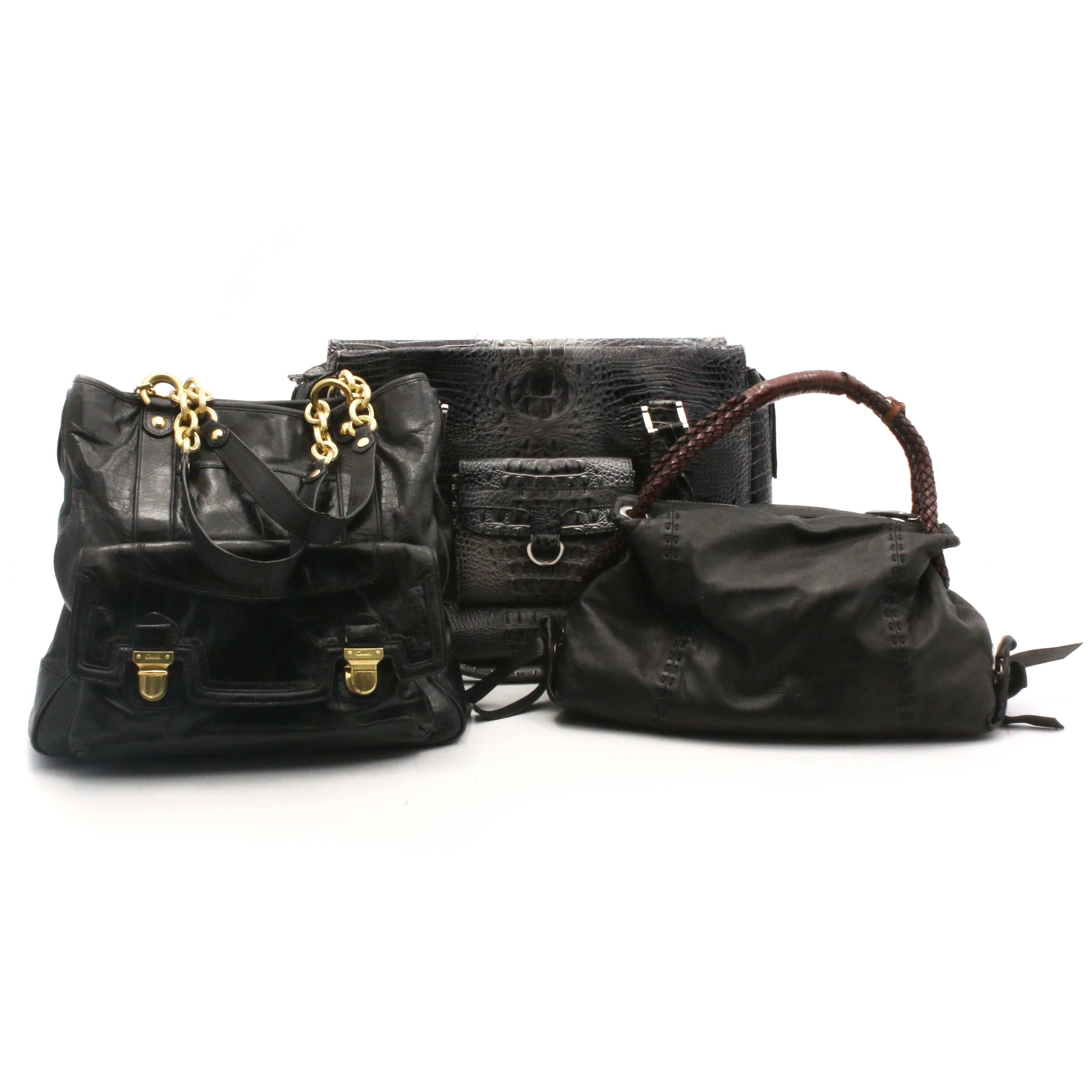 Coach, Desmo, and Charlie Lapson Leather Bags