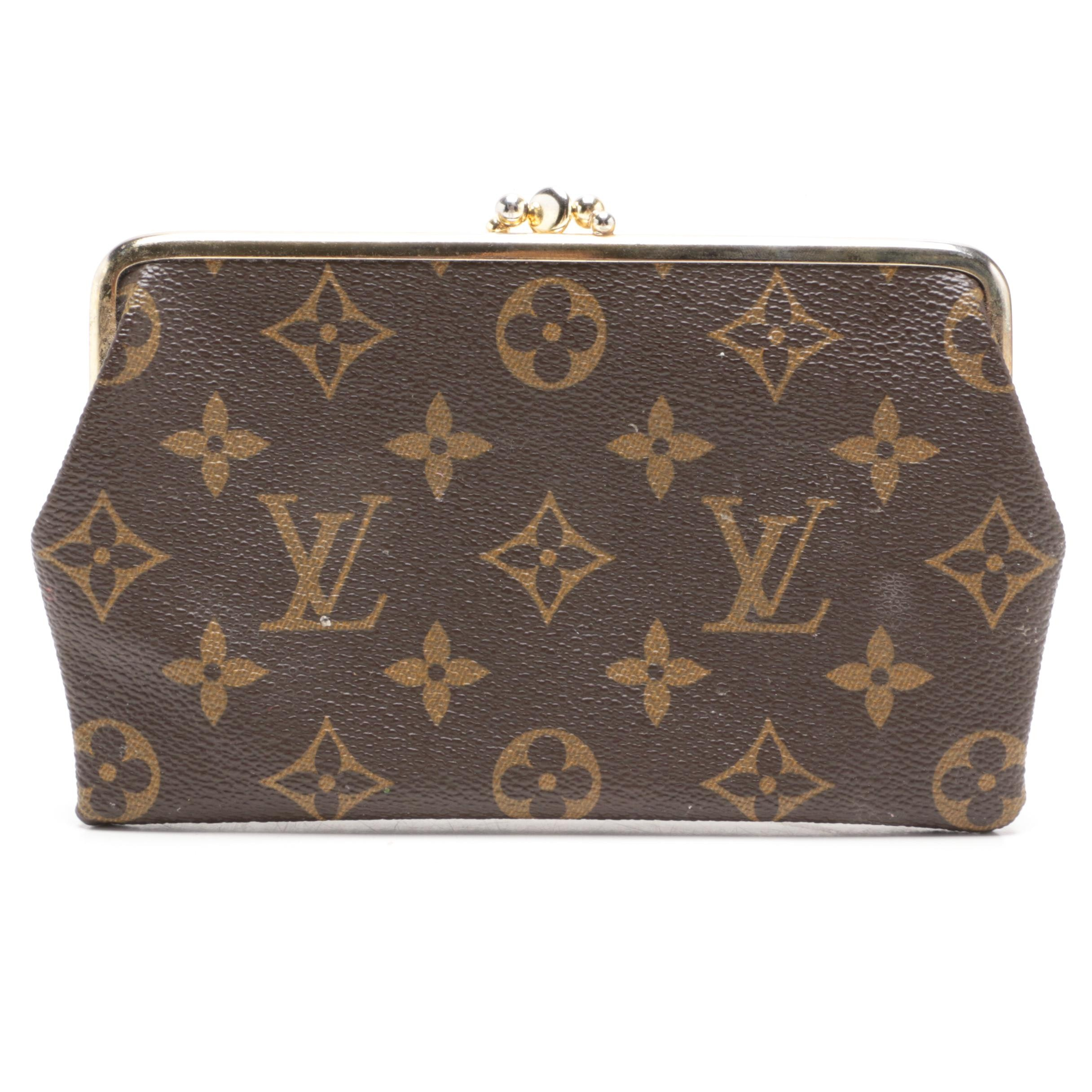 The French Company for Louis Vuitton Monogram Canvas Clutch