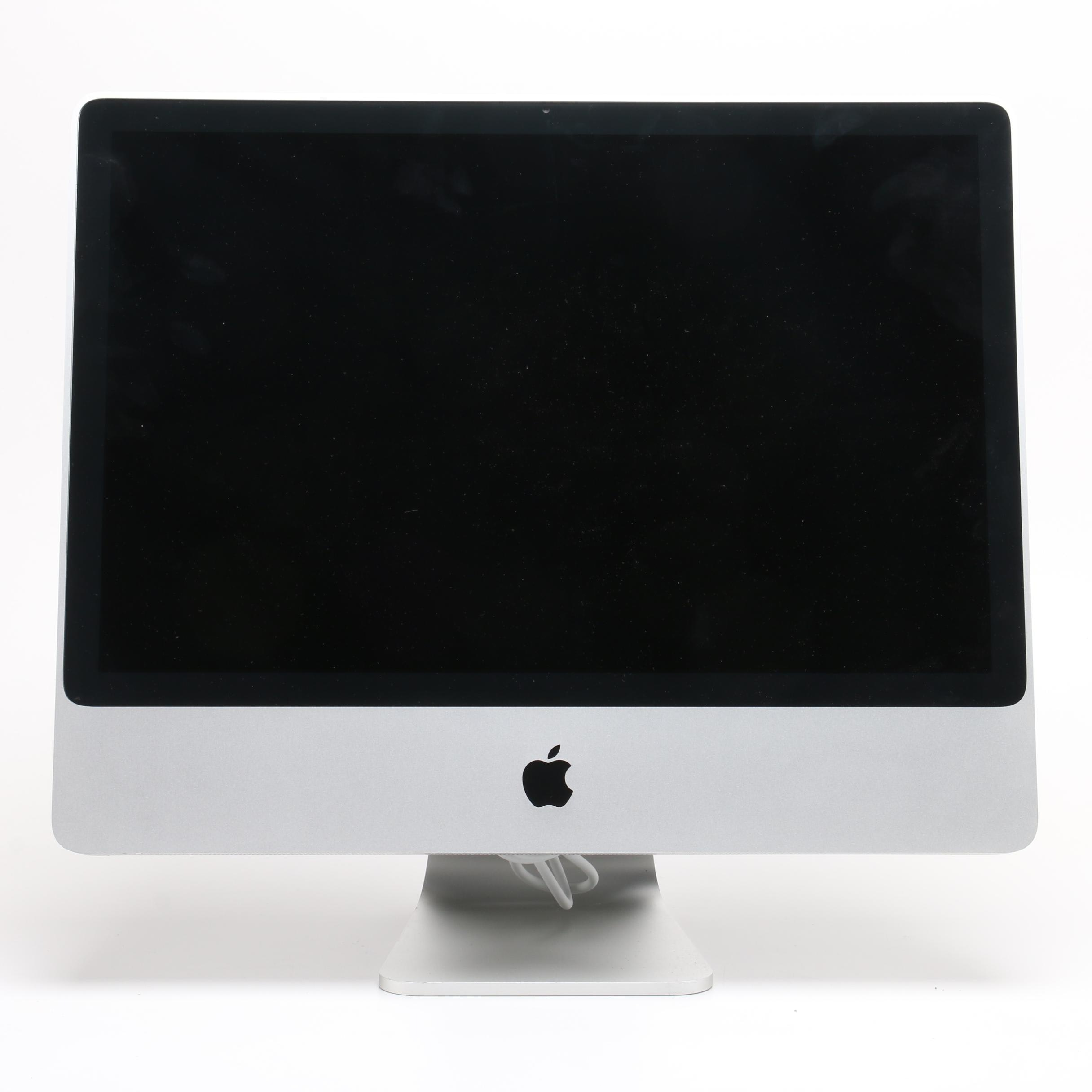 "24"" Apple iMac Desktop Computer"