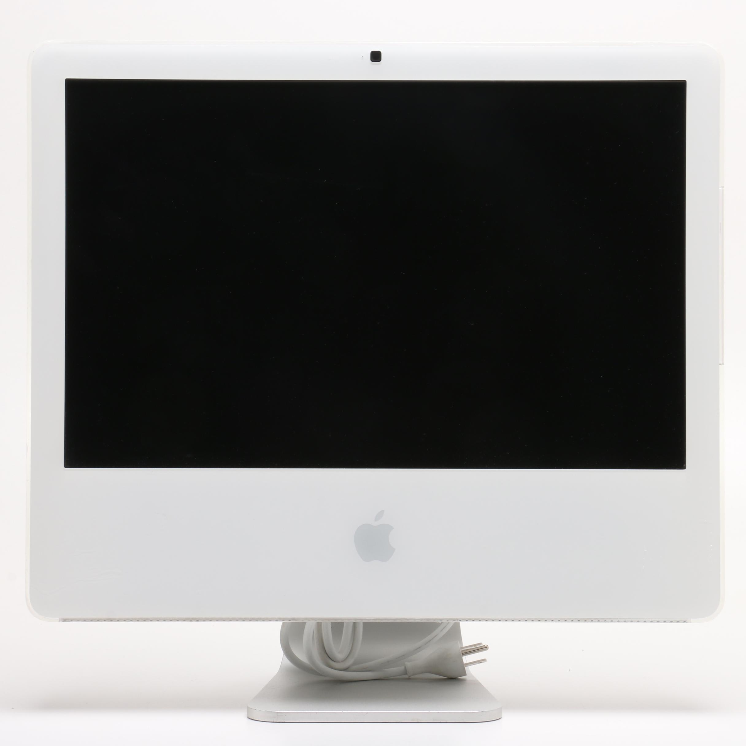 "20"" Apple iMac Desktop Computer in White"