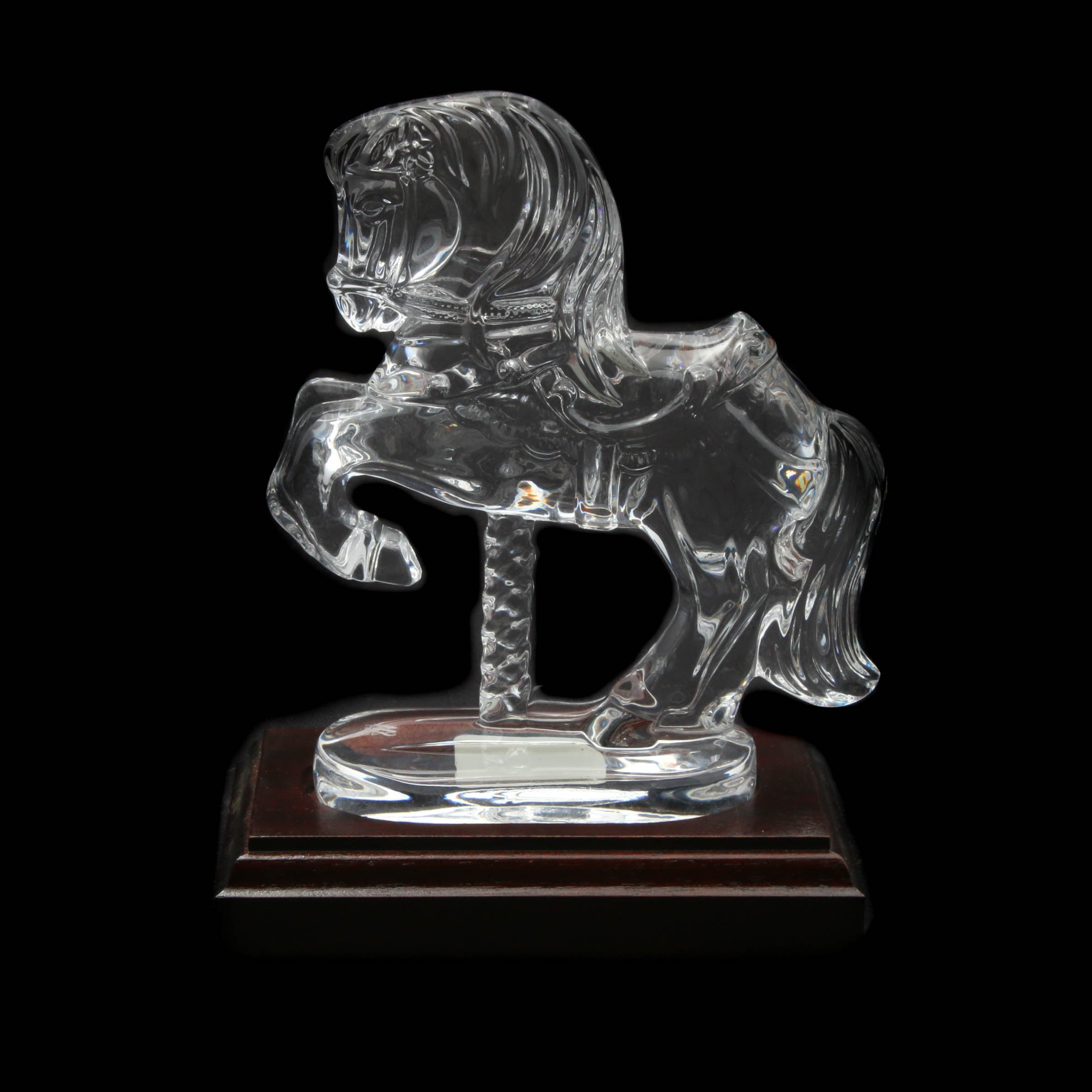 """Waterford Crystal """"Carousel Horse"""" by Paddy O'Hanlon"""