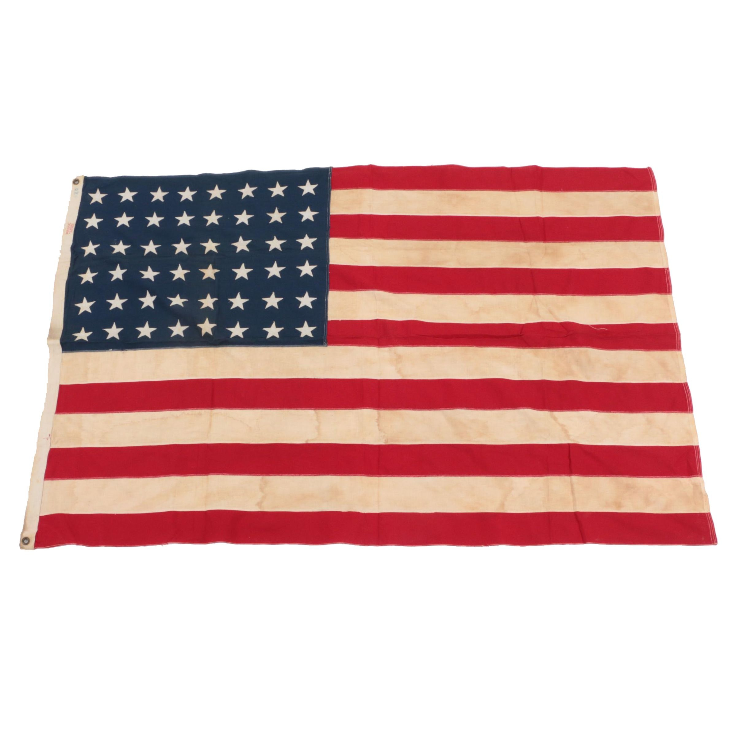 Vintage Forty-Eight Star Flag, 1912-1959 by Defiance Bunting