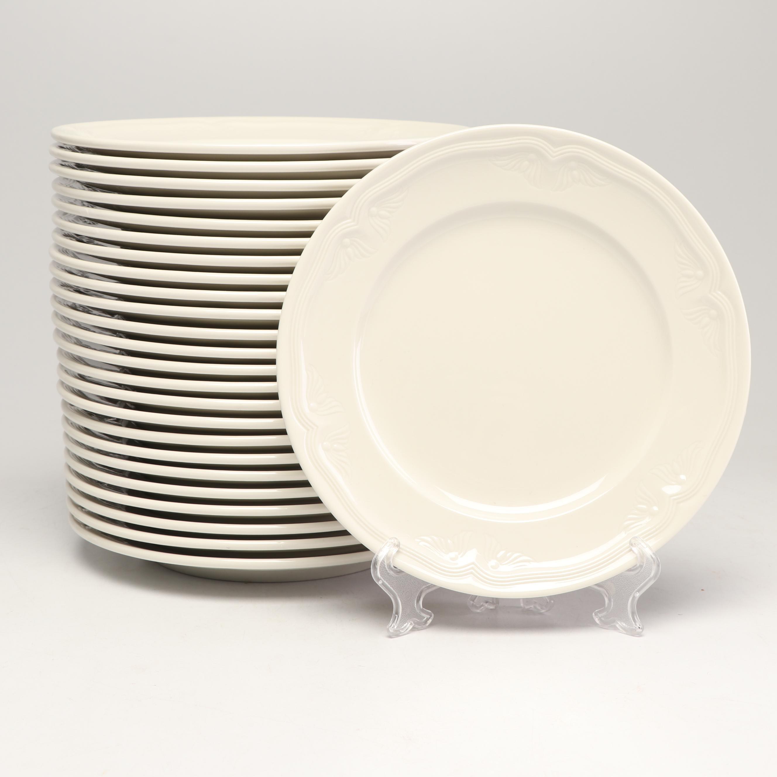 "Villeroy & Boch ""Cortina"" Porcelain Salad Plates, Late 20th Century"