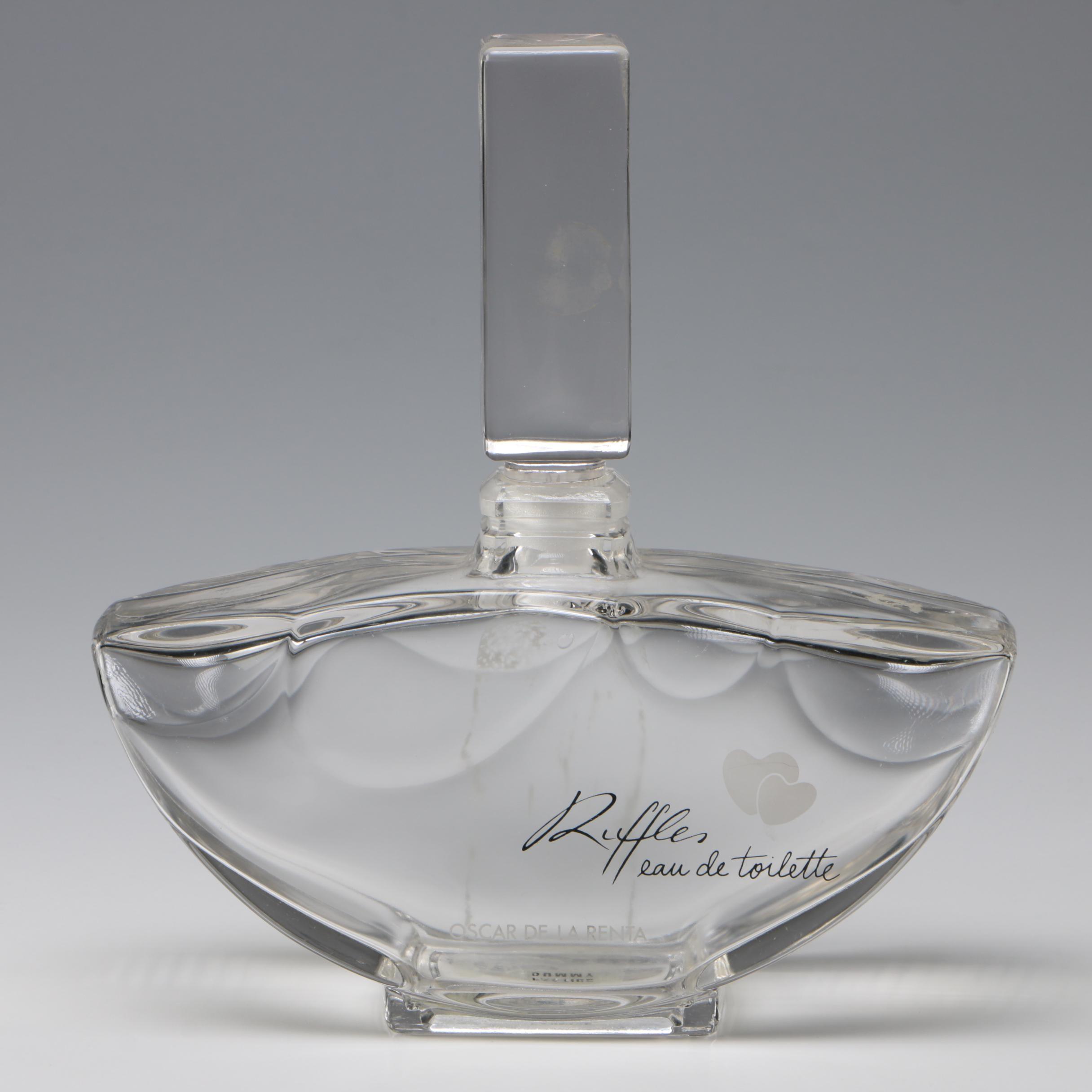 "Oscar de la Renta ""Ruffles"" Factice Dummy Perfume Bottle"