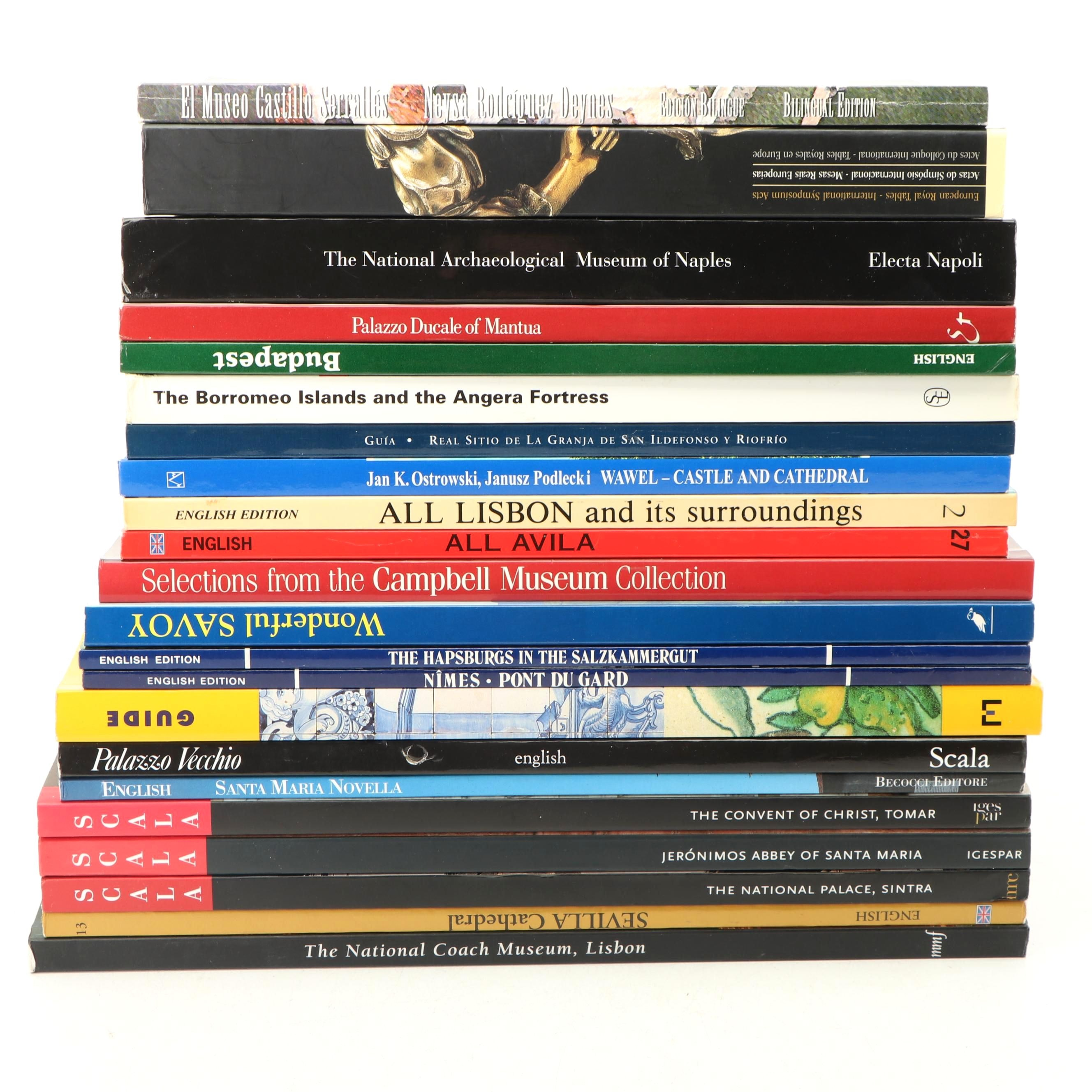 Museum and Historical Site Guide Books, Late 20th Century