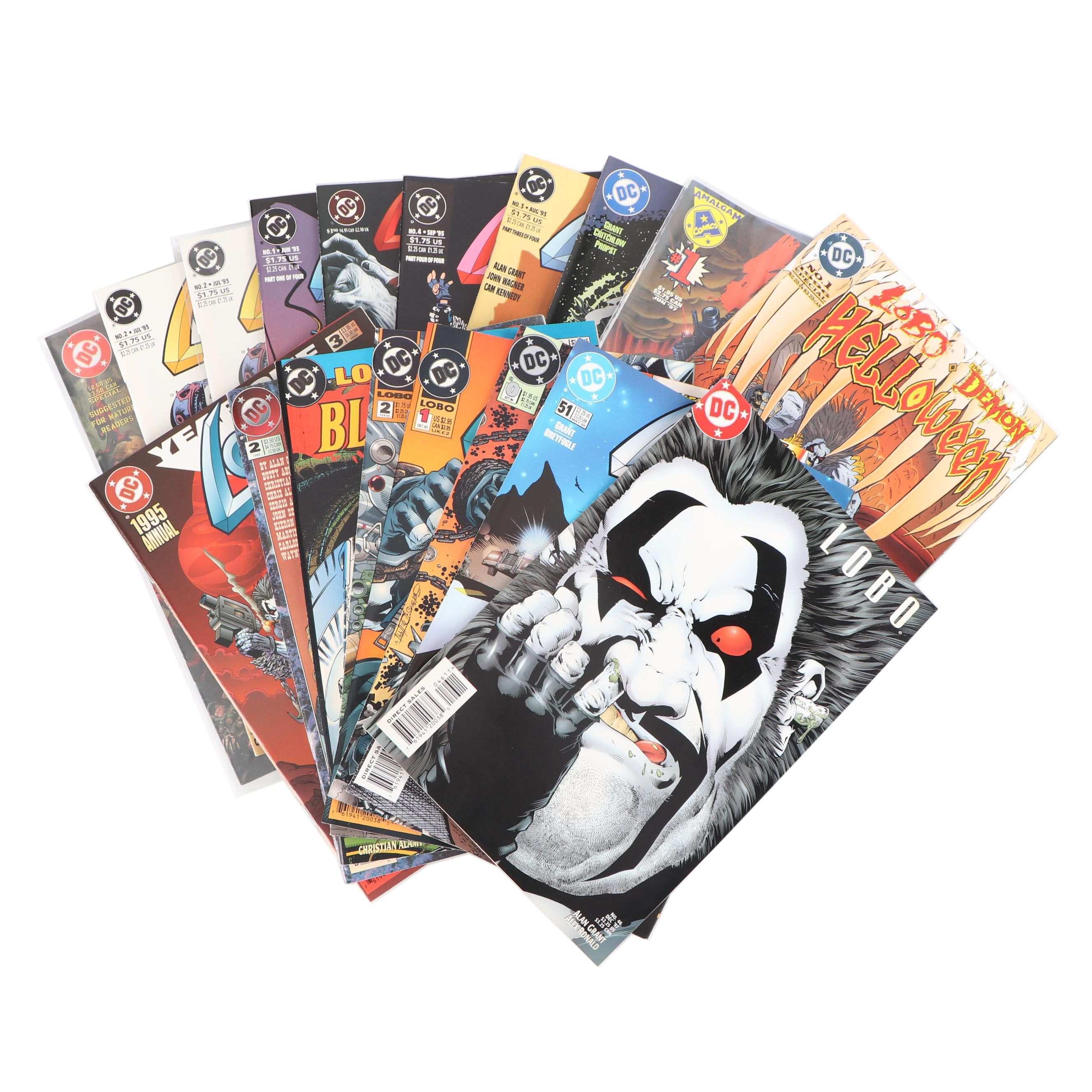 "Modern Age ""Lobo"" Comic Books"