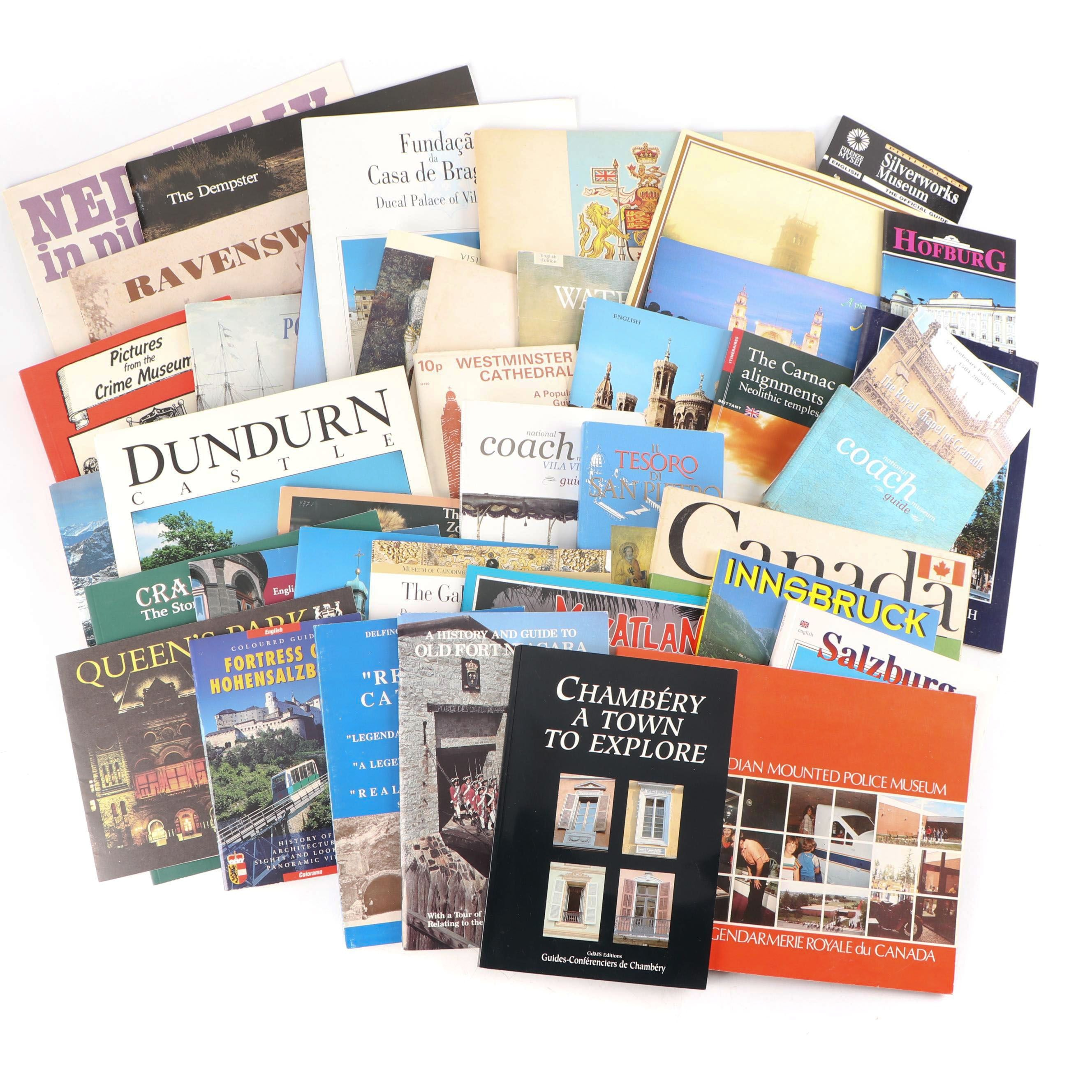 Guide Books, Souvenirs, and Pictorial History Pamphlets