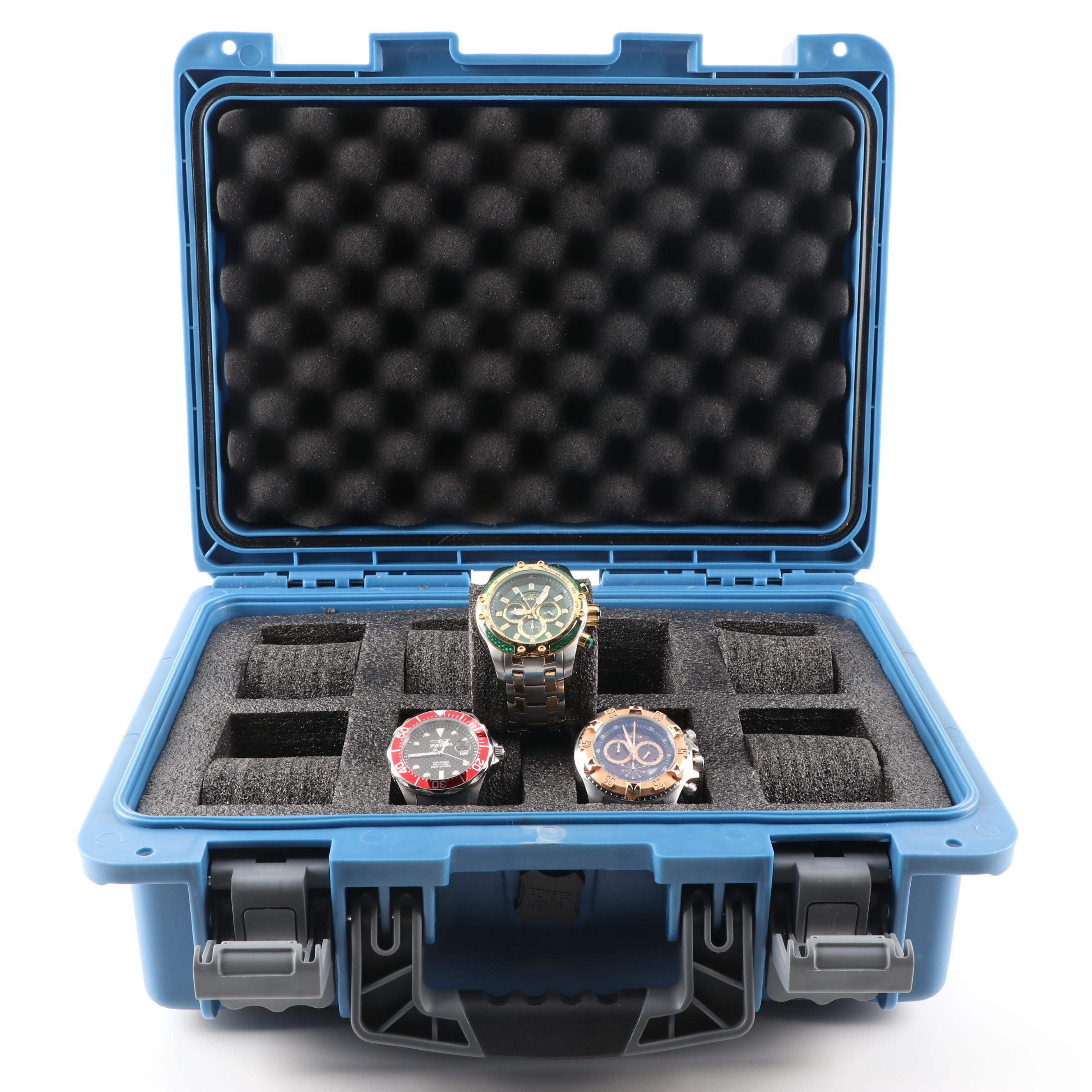 Invicta Swiss Wristwatches with Case