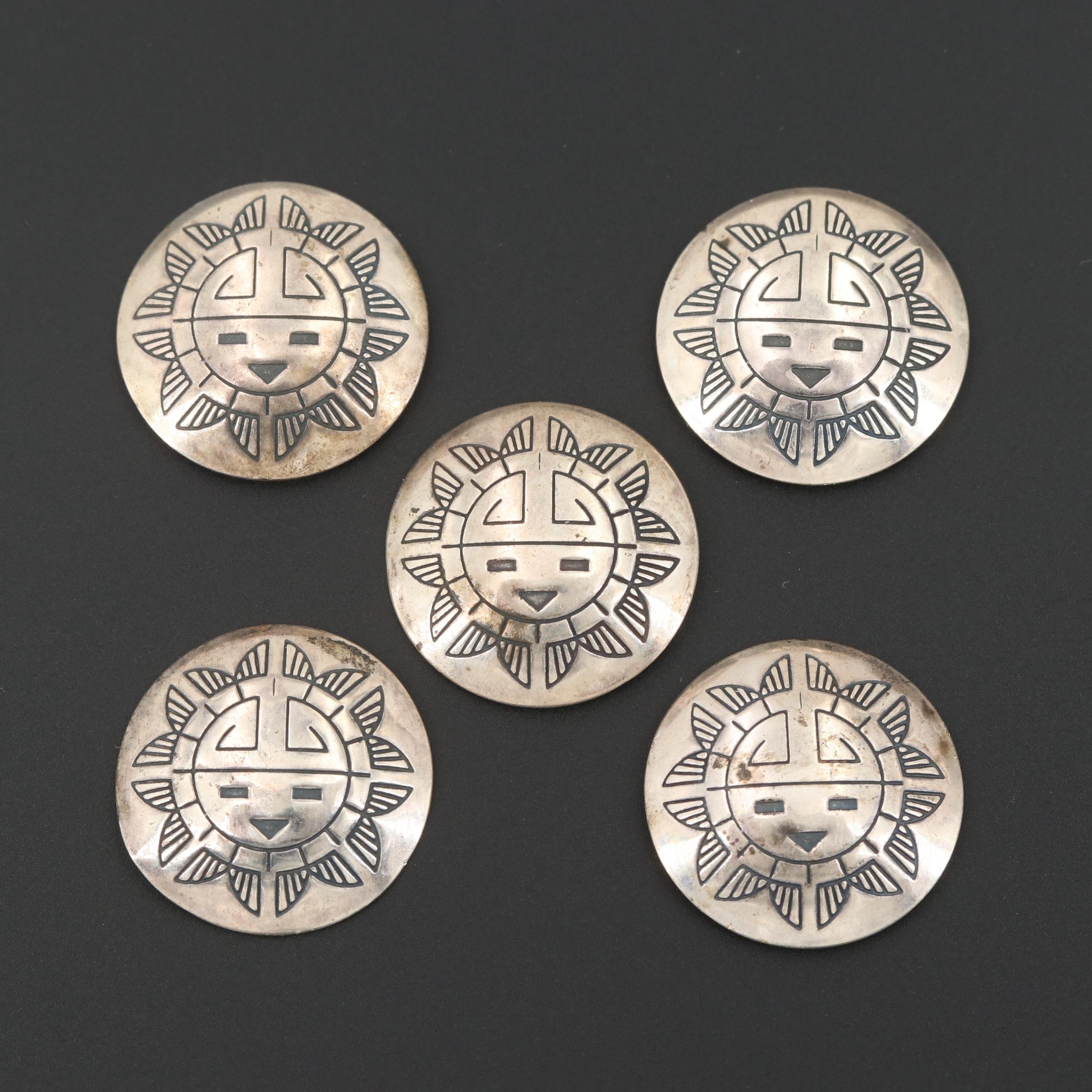 Sterling Silver Sun Symbol Findings