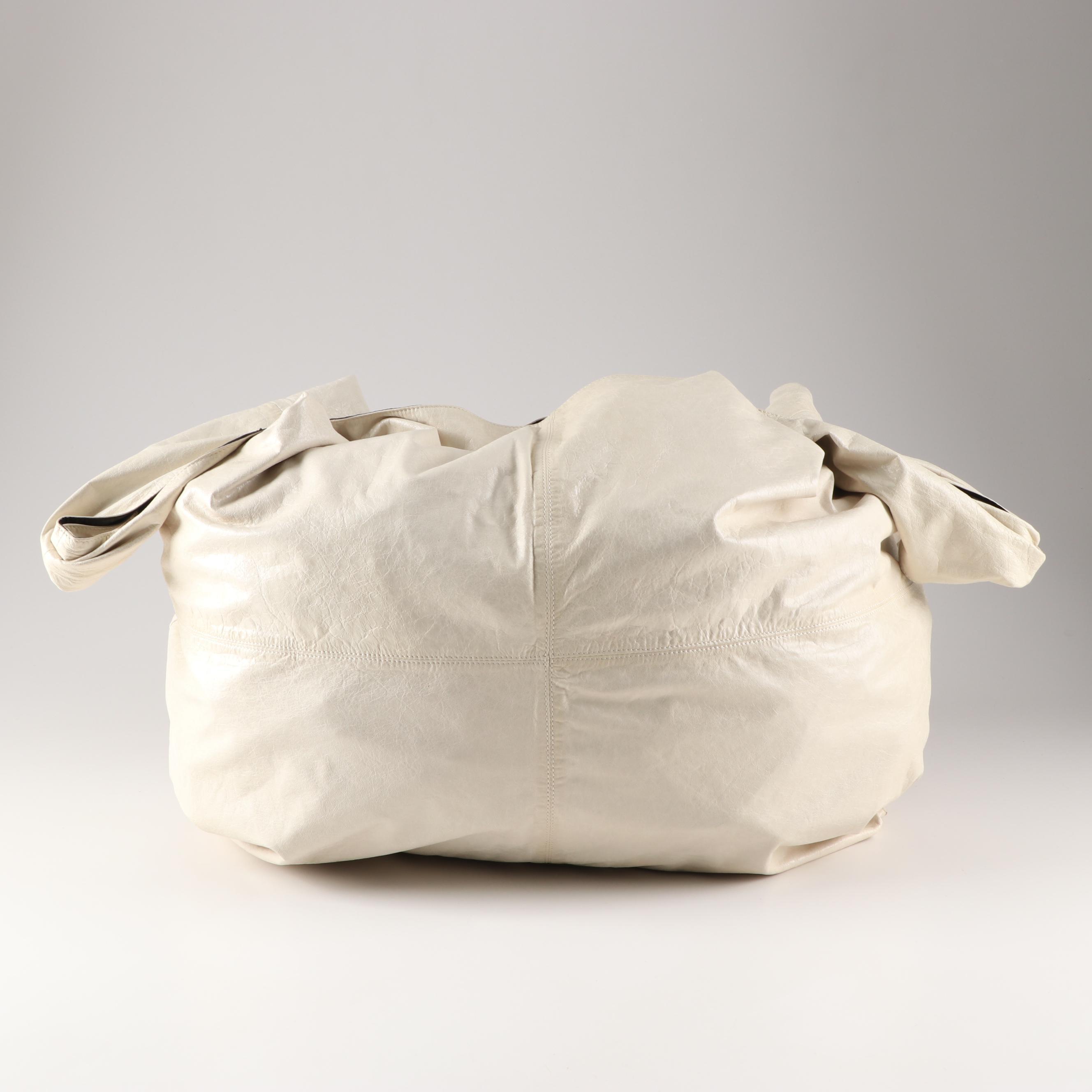 Alexander Wang New York Ivory Leather Hobo Bag