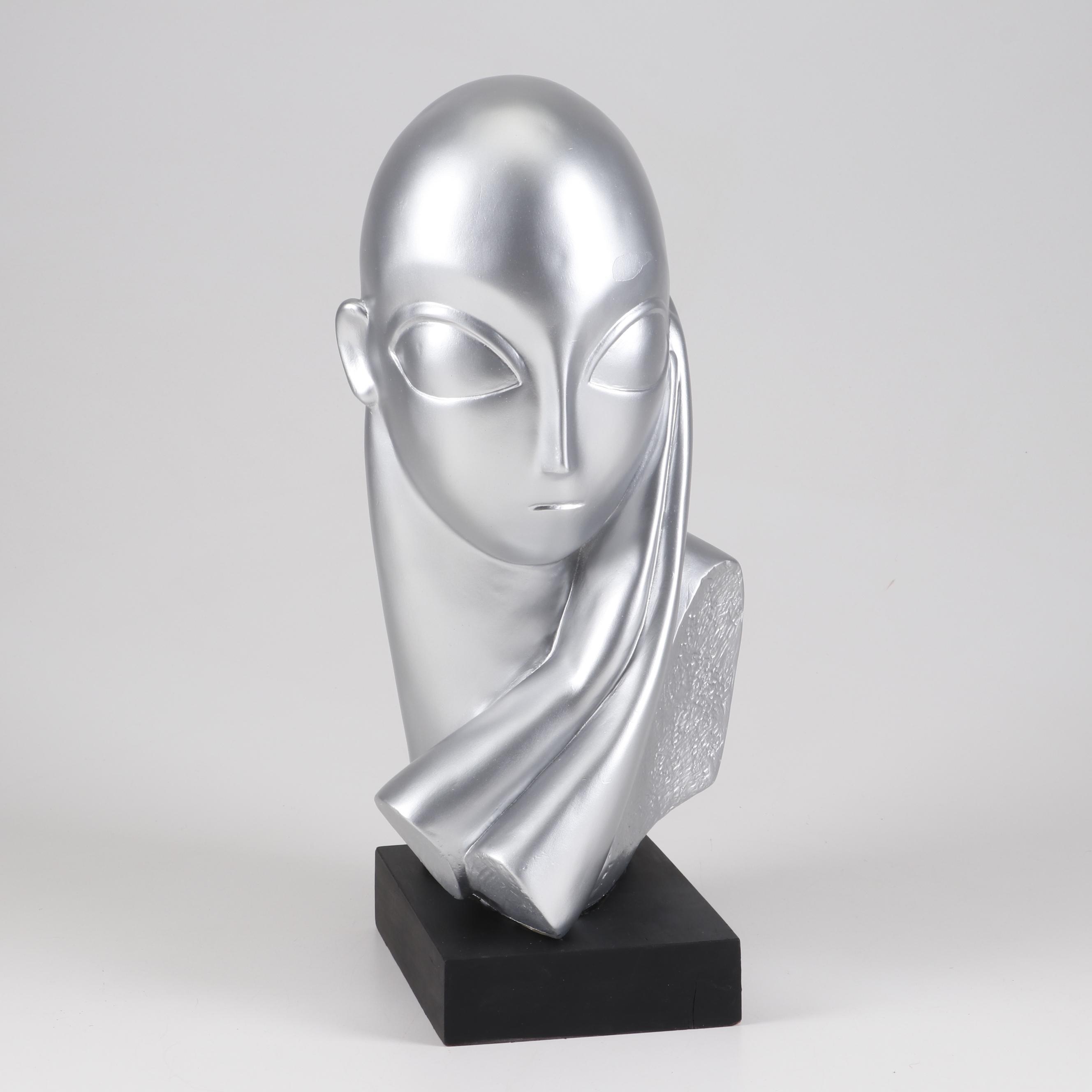 Austin Productions Ceramic Sculpture after Constantin Brancusi