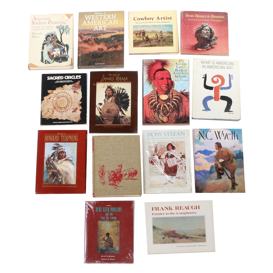 """""""History of Western American Art"""" and More Western Art Books"""