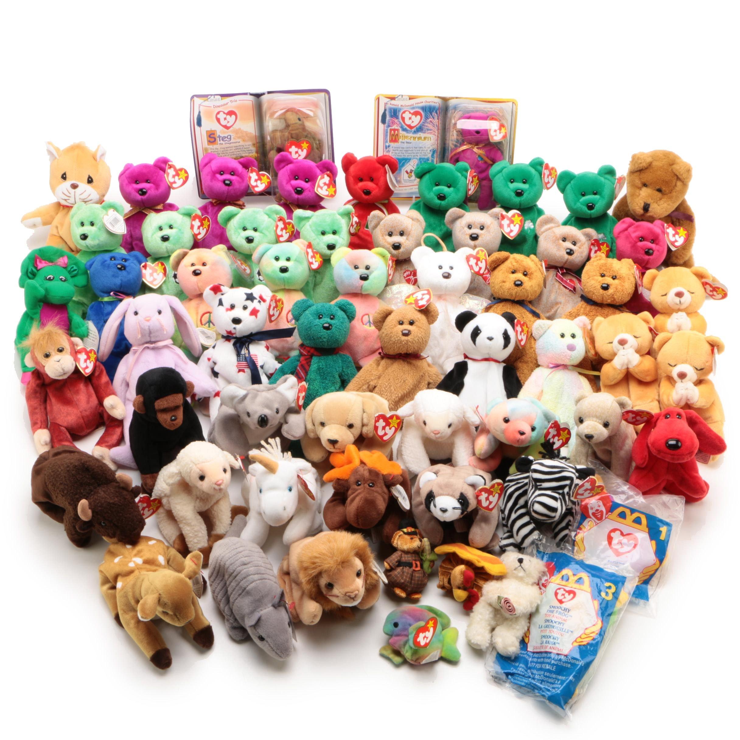 Ty Beanie Babies Stuffed Toys