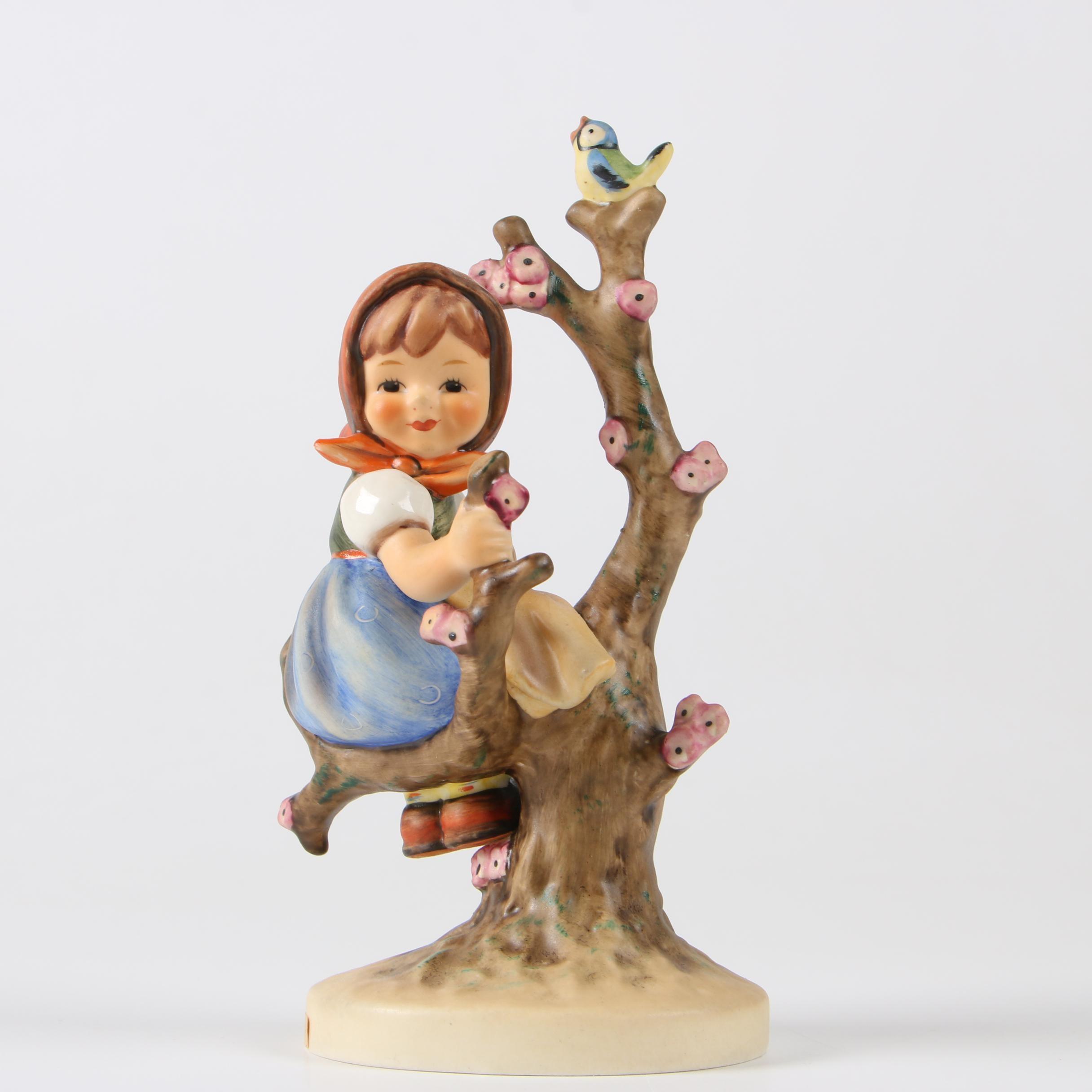 "Goebel Hummel ""Apple Tree Girl"" Porcelain Figurine, 1972–1979"