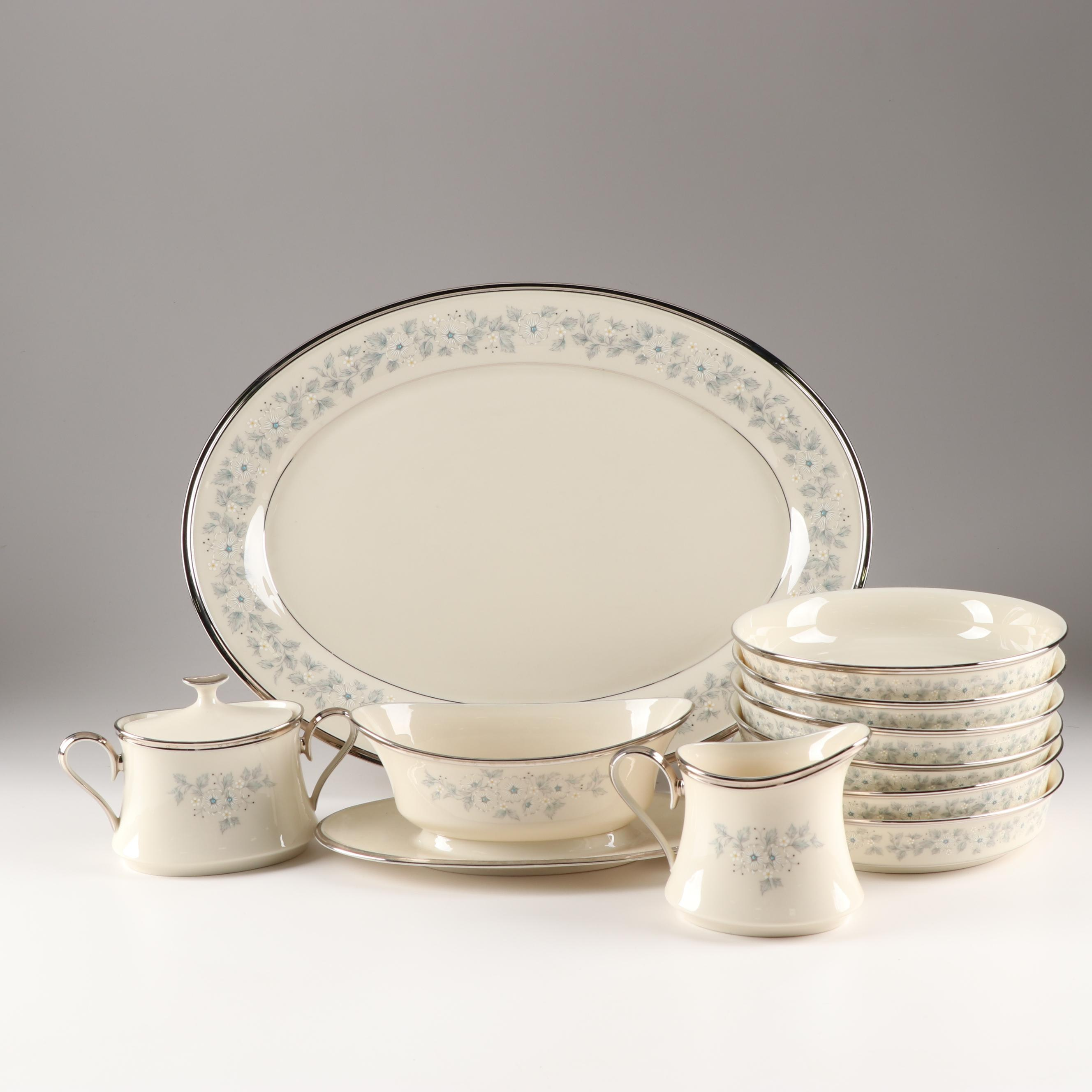 "Lenox China ""Windsong"" Serveware and Soup Bowls"