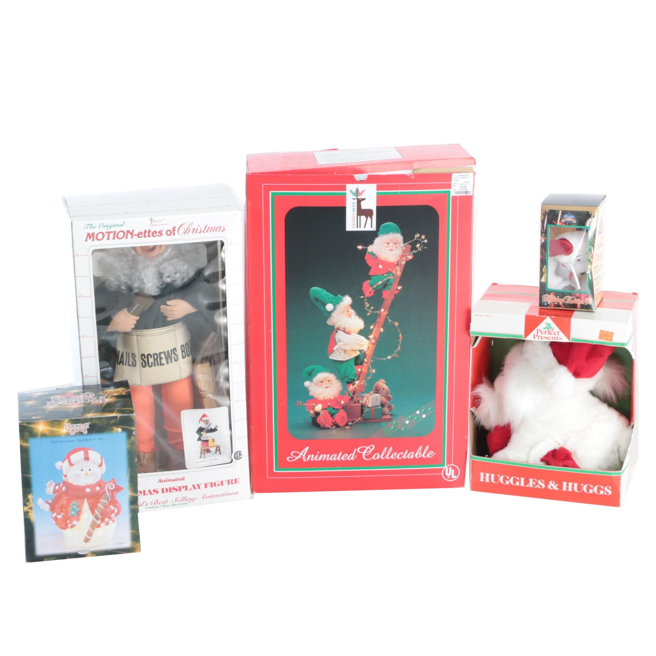 Christmas Themed Plush Toys and Decor