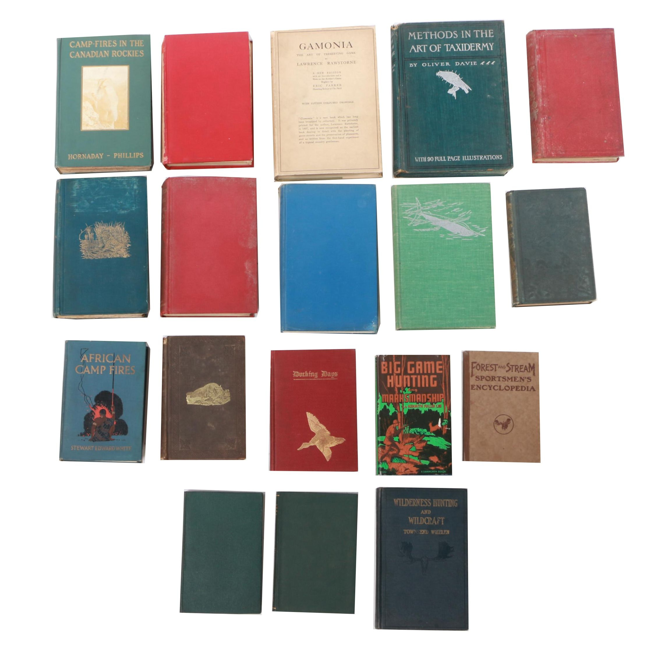 Assorted Hunting Memoir and Game Hunting Books