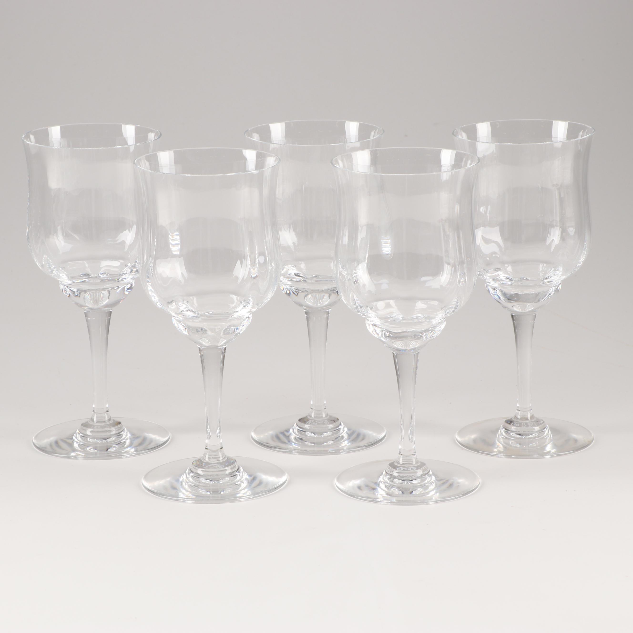 "Baccarat Crystal ""Capri"" White Wine Stemware"