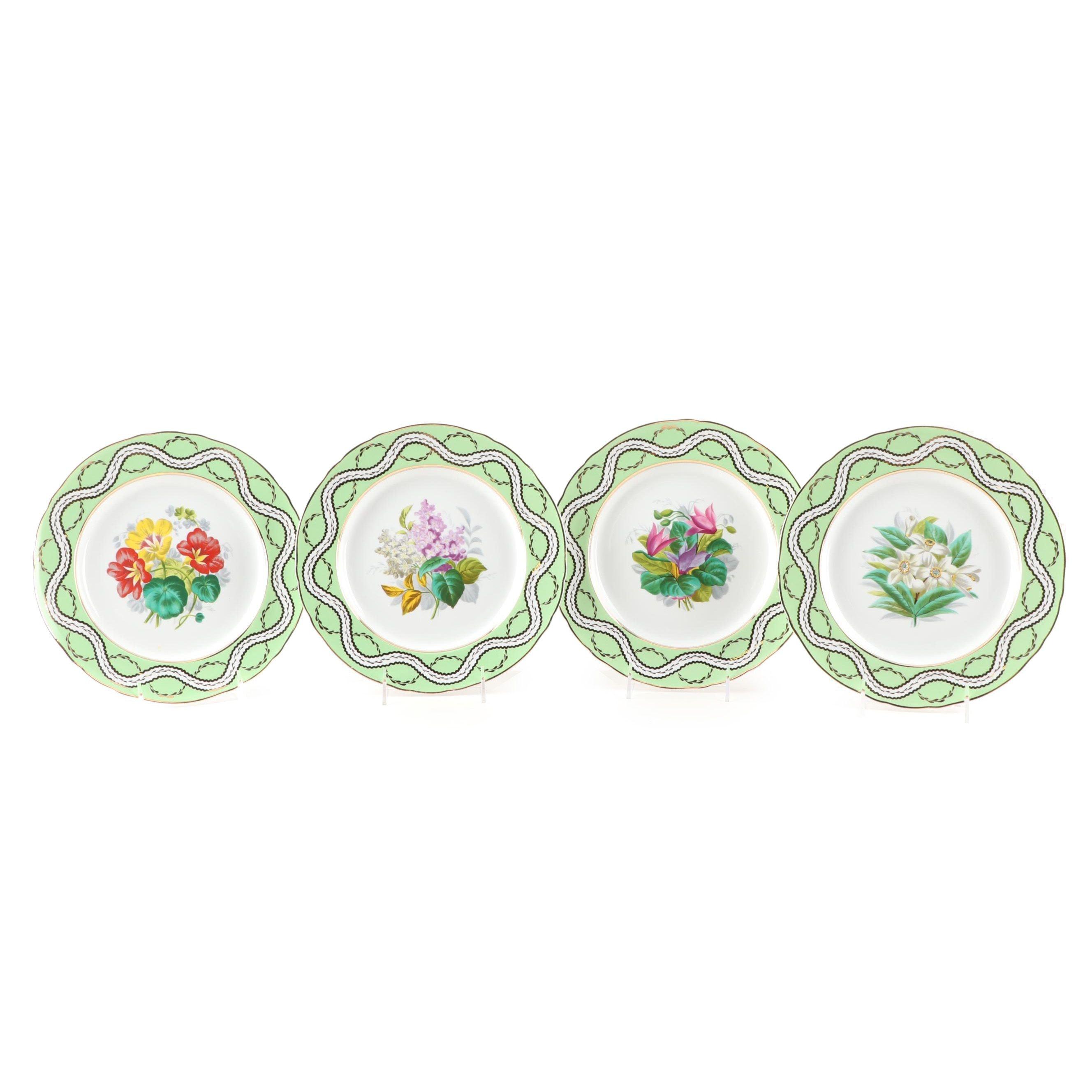 Botanical Porcelain Wall Plates