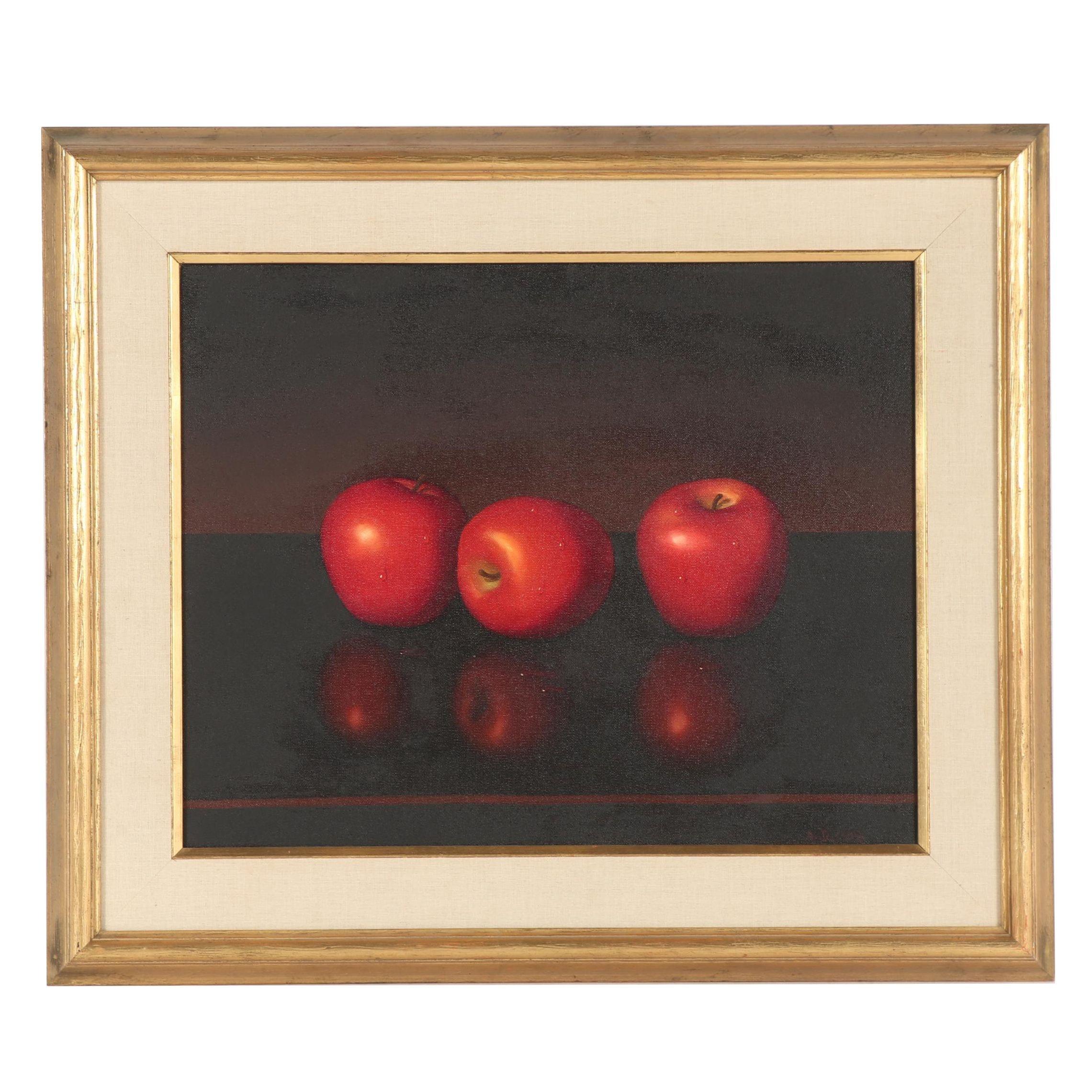 Alfred Jackson Still Life Oil Painting