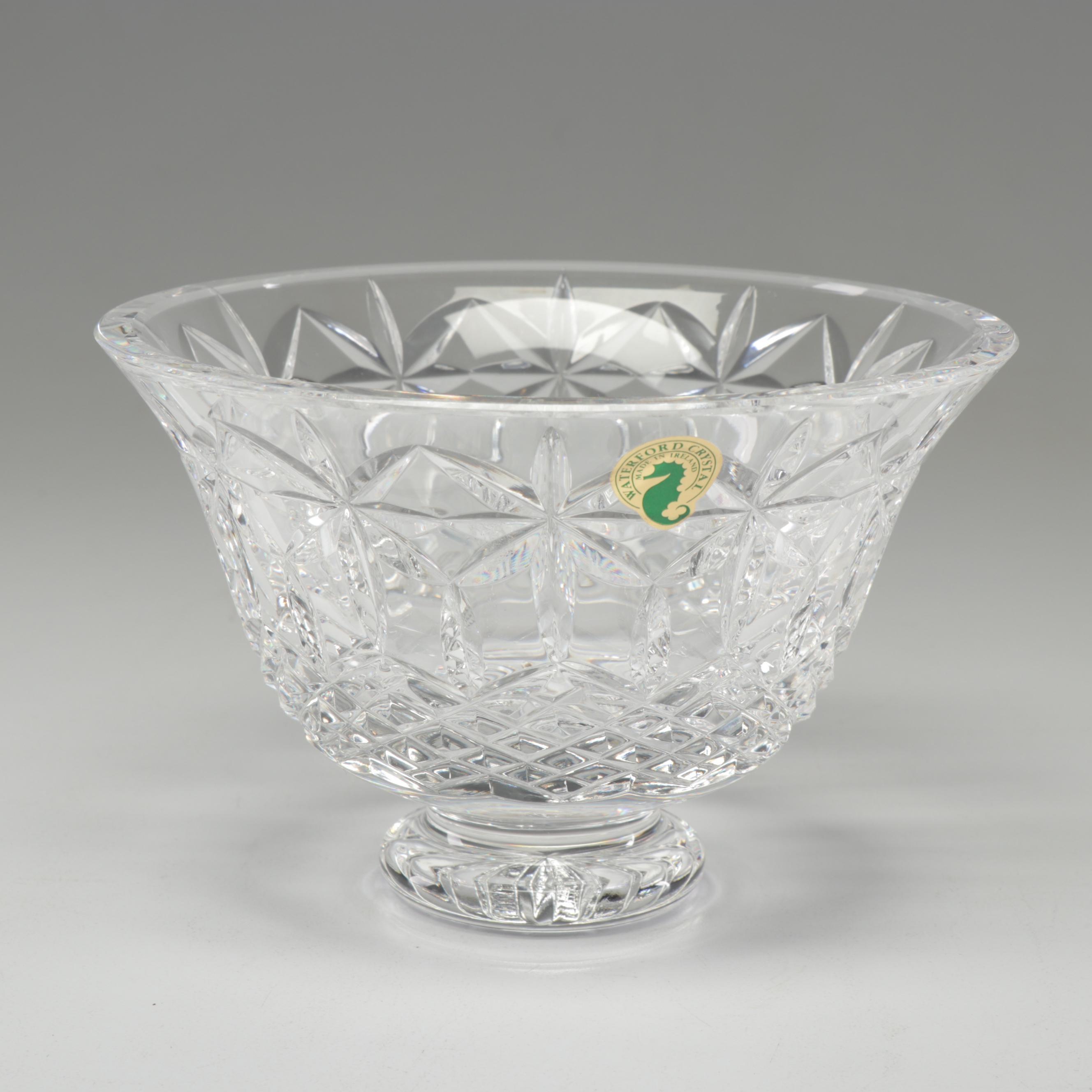 "Waterford Crystal ""Balmoral"" Bowl"