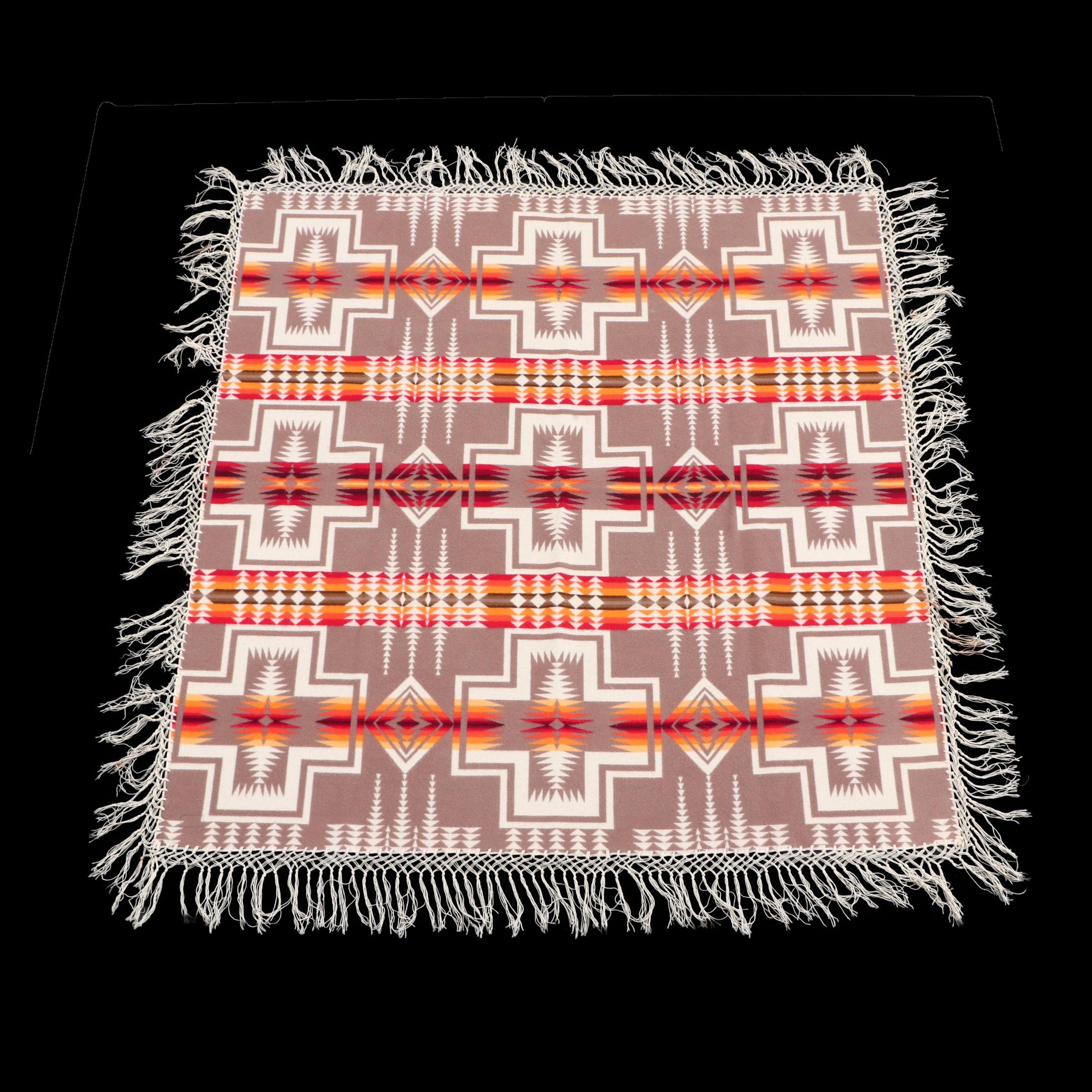 Pendleton Mills Beaver State Southwestern Style Wool Blanket
