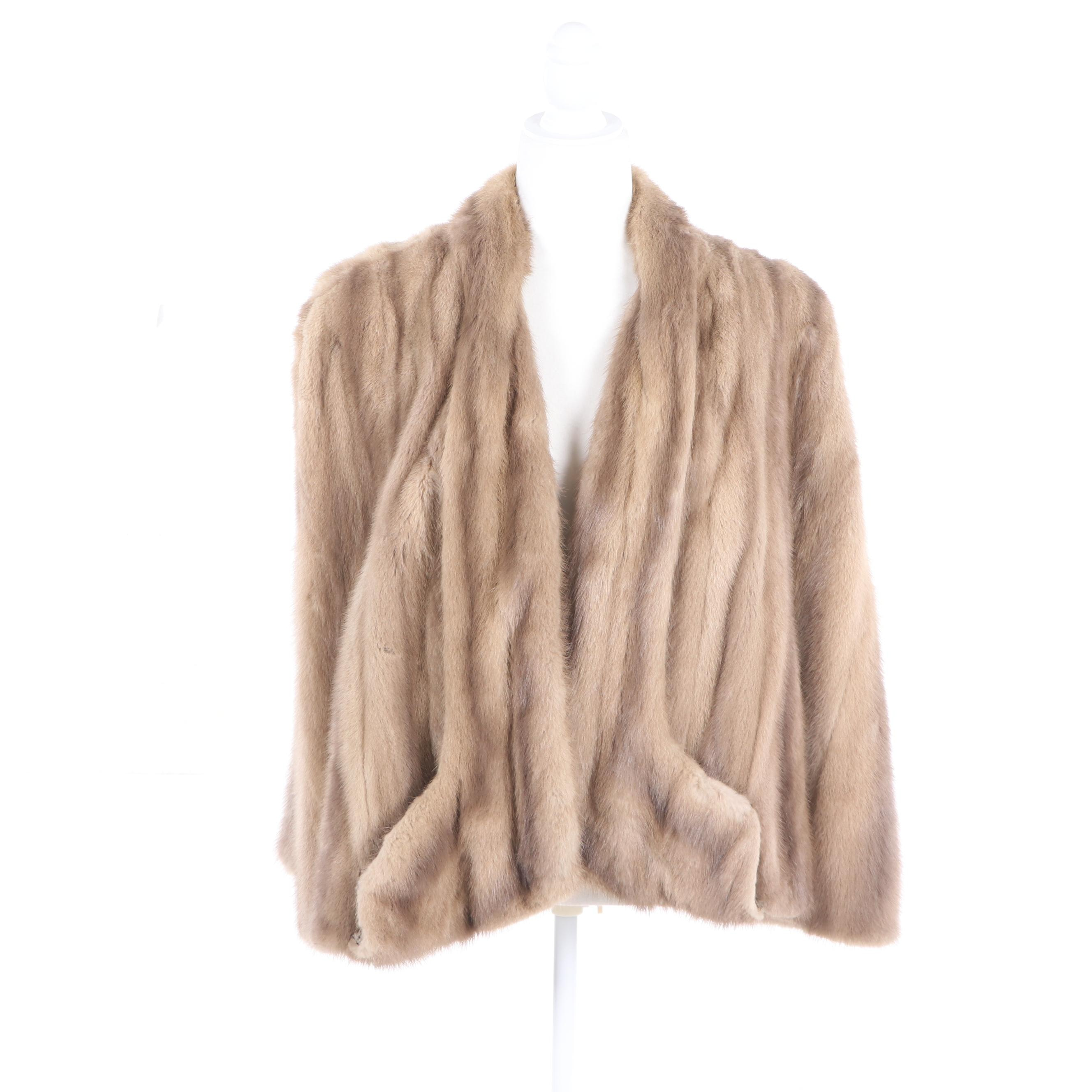 Women's Thorpe Mink Fur Capelet, Mid-20th Century