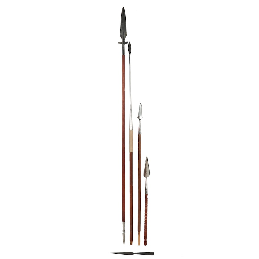 Reproduction Spear, War Darts and Pilum
