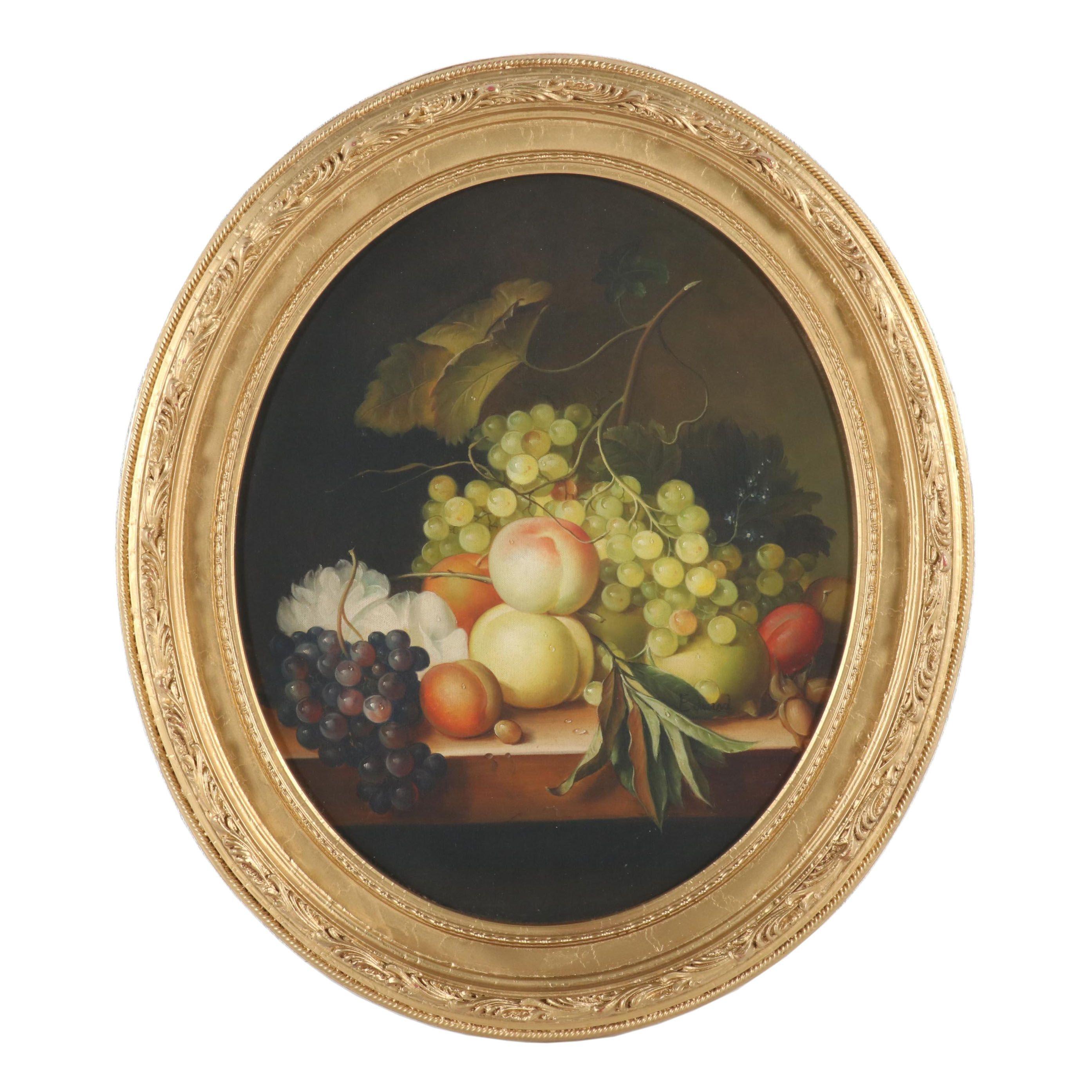 "Edward Oil Painting ""Still Life"""