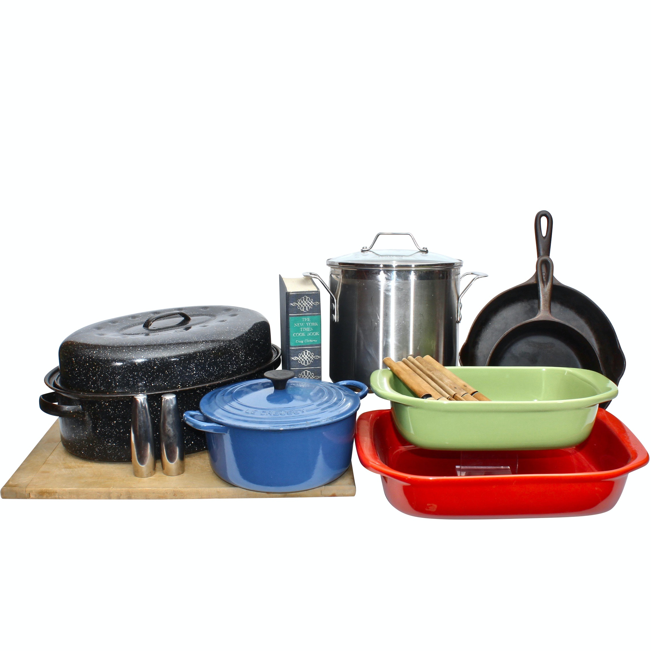 Le Cruset, Calphalon, Cast Iron and Other Gourmet Kitchenalia