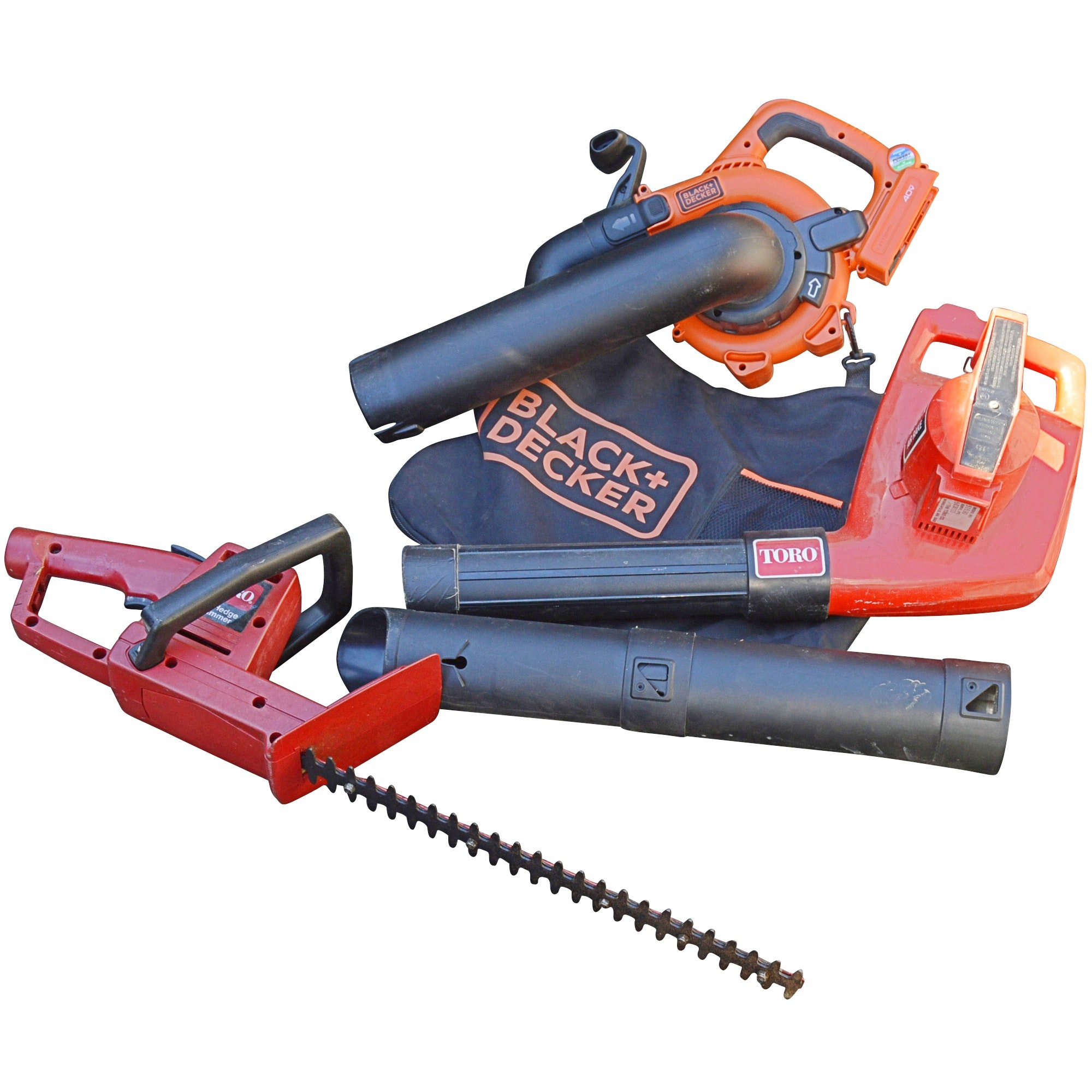 Power Garden Tools with Black & Decker and Toro