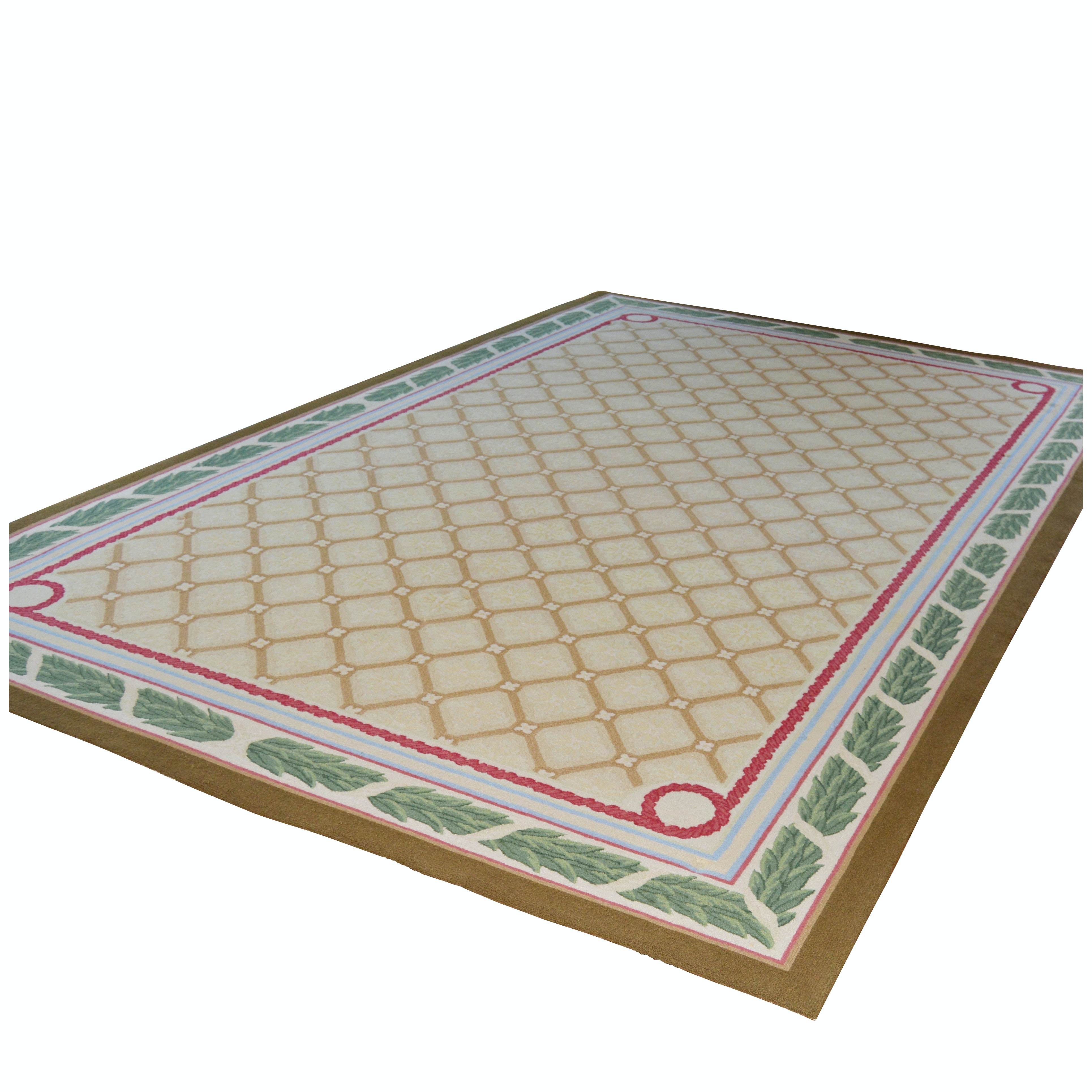 Tufted French Style Wool Palace Sized Rug