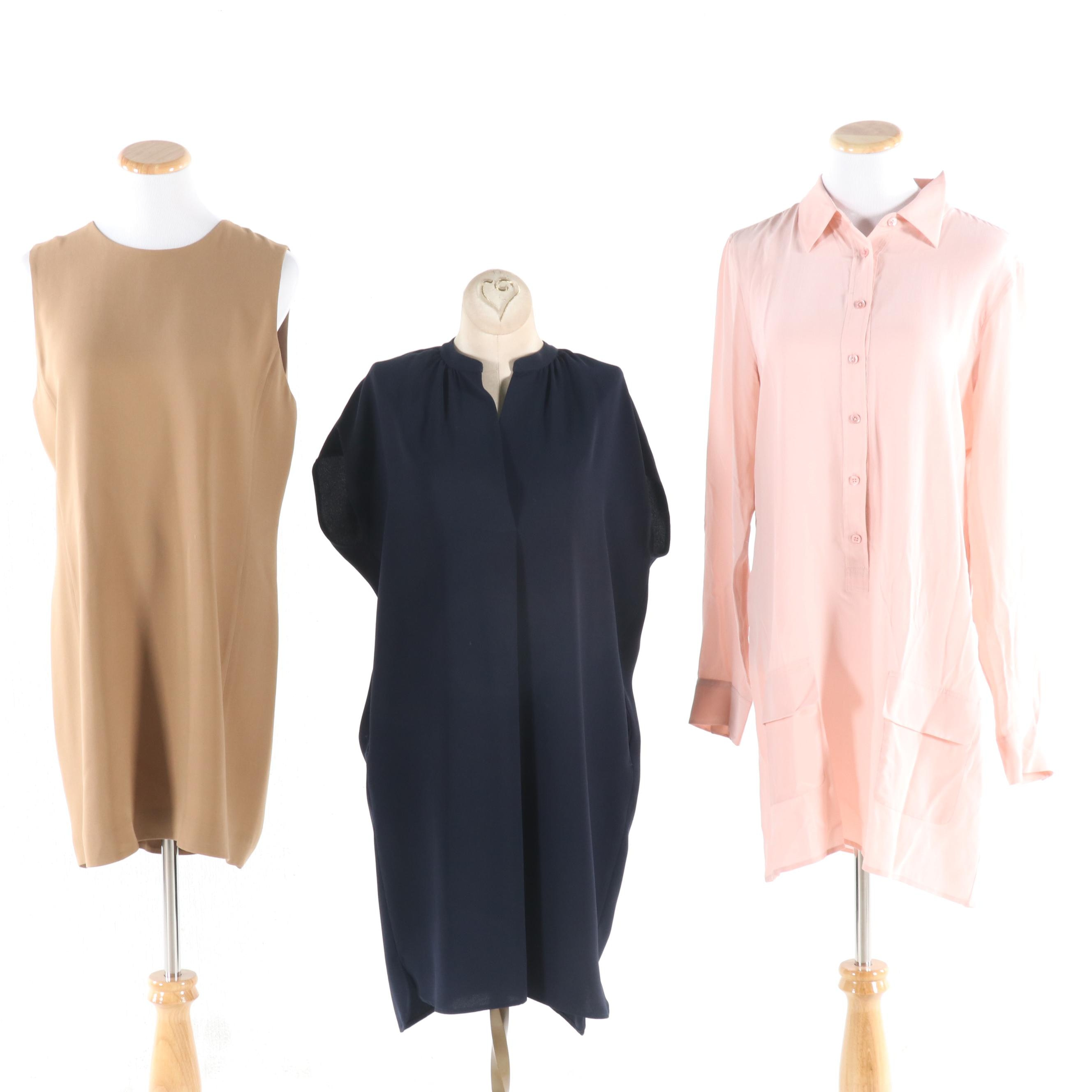 Vince and Equipment Femme Day Dresses