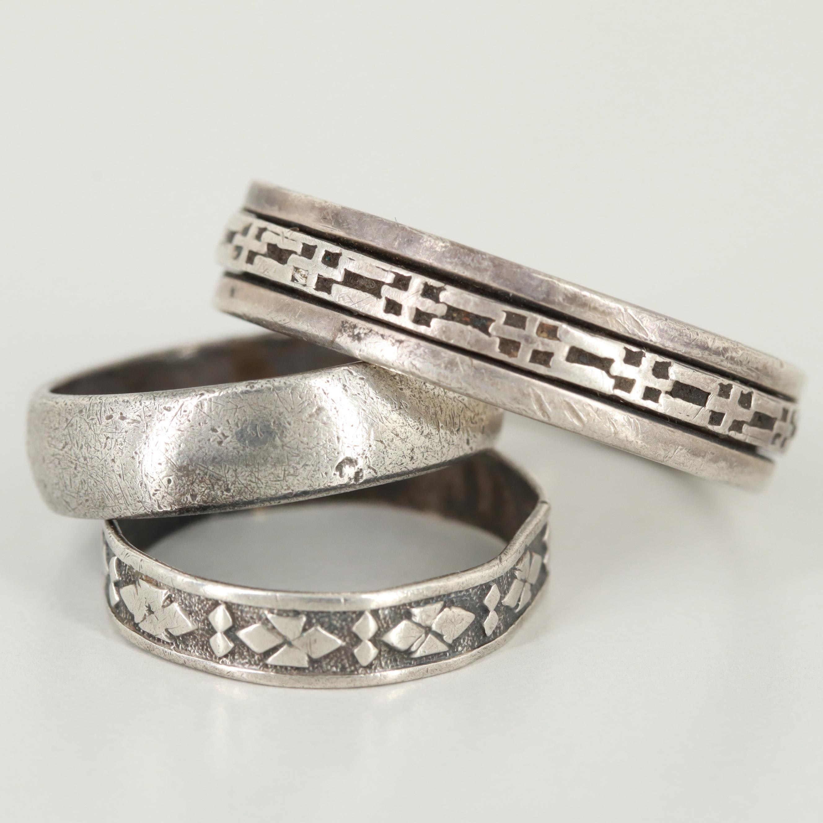 Sterling Silver Ring Bands