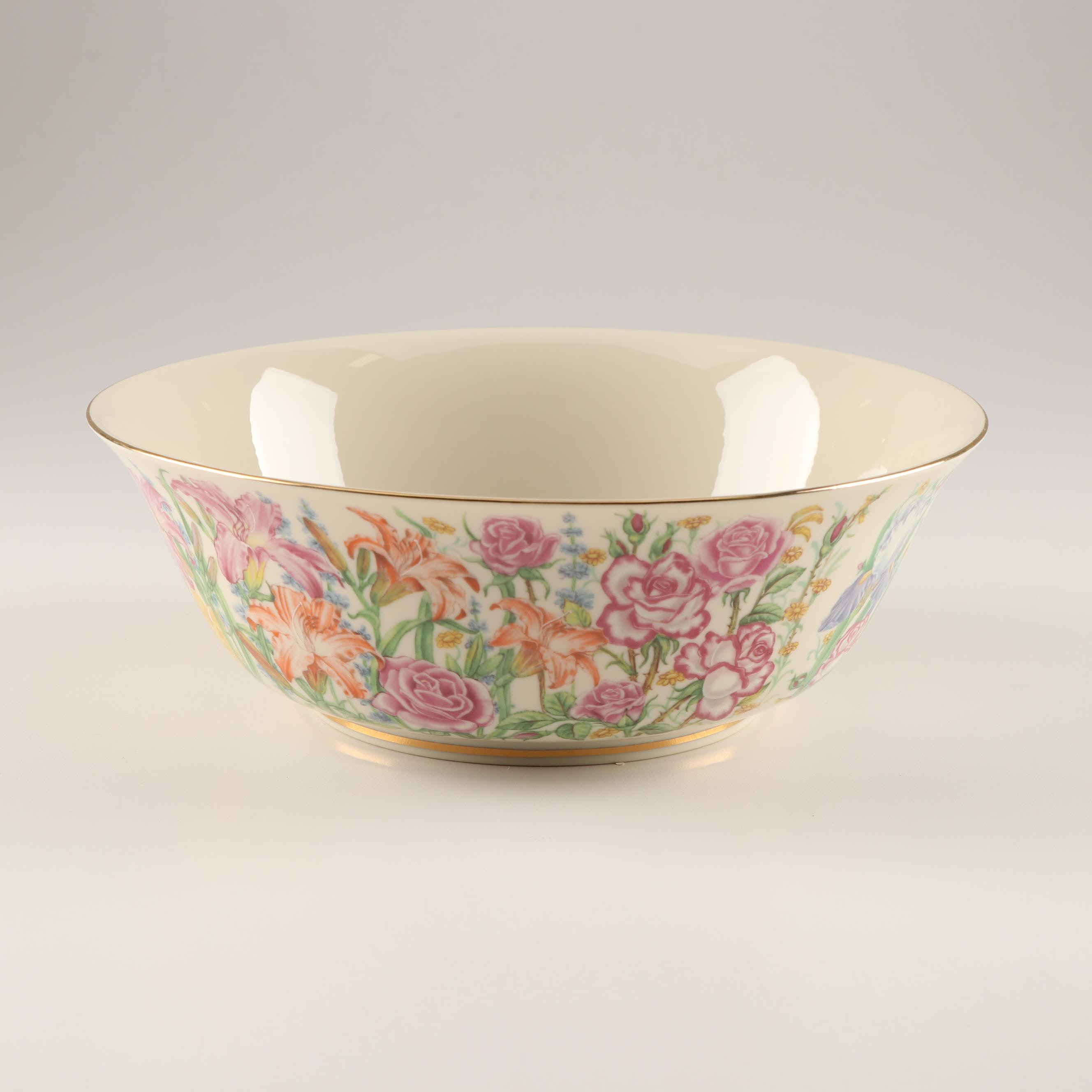 """Lenox """"The Flower Blossom Bowl"""" by Suzanne Clee"""