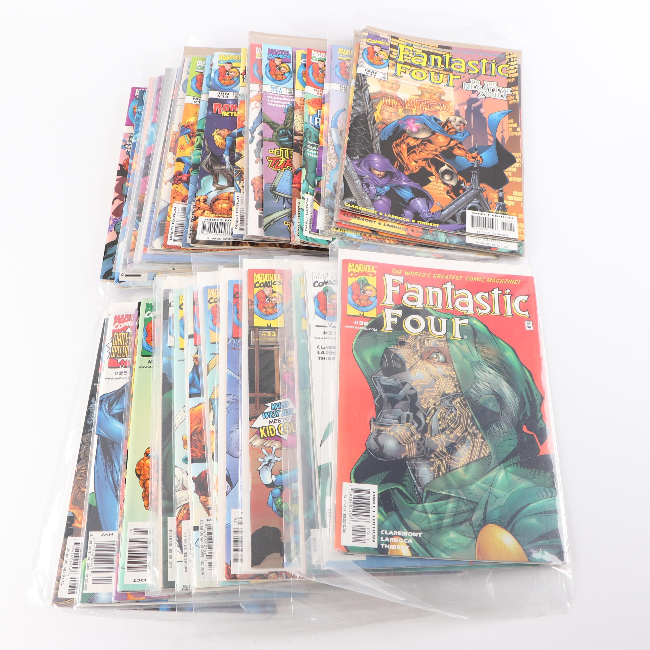 "Modern ""Fantastic Four"" Comic Books"