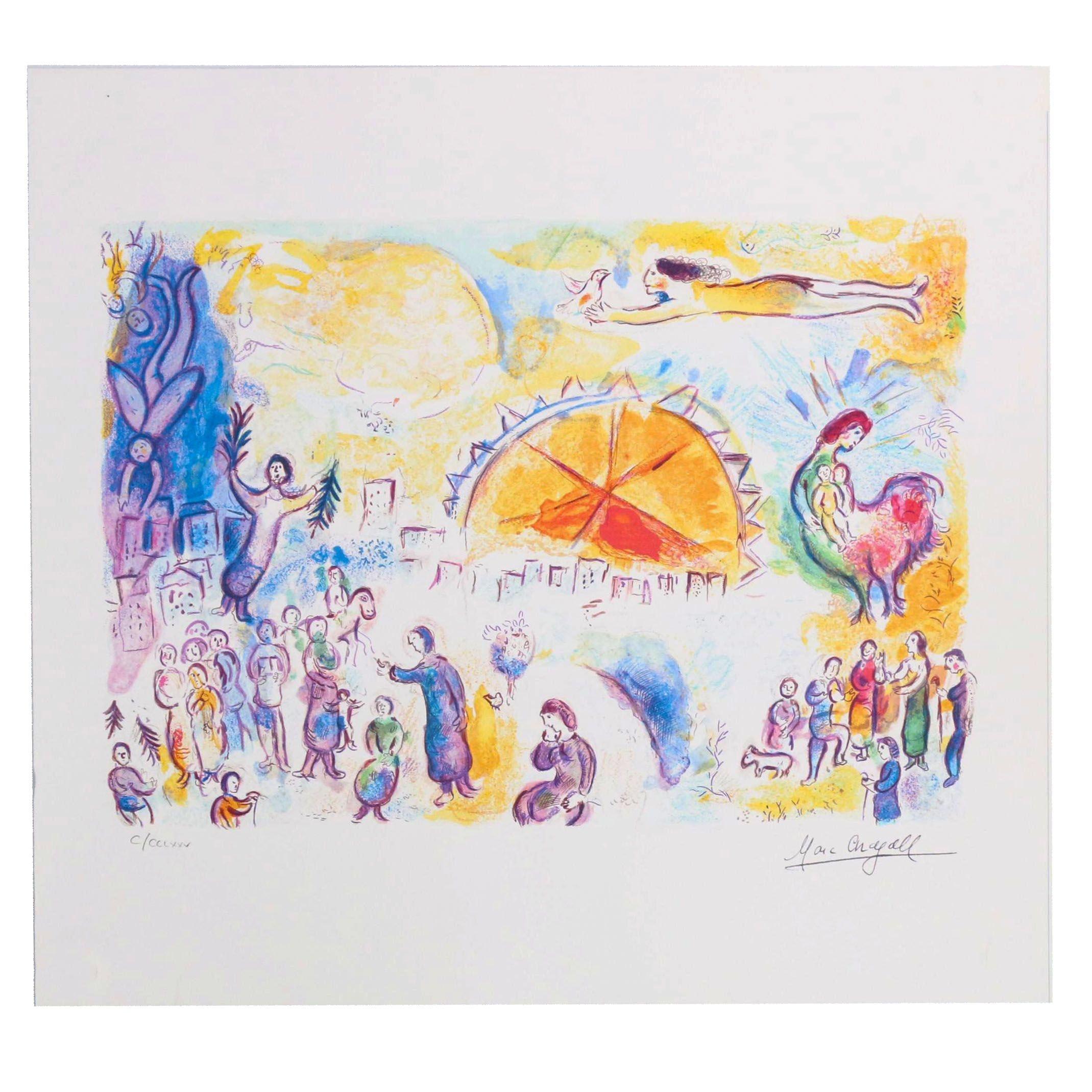 "Giclée after Marc Chagall ""Four Seasons"""