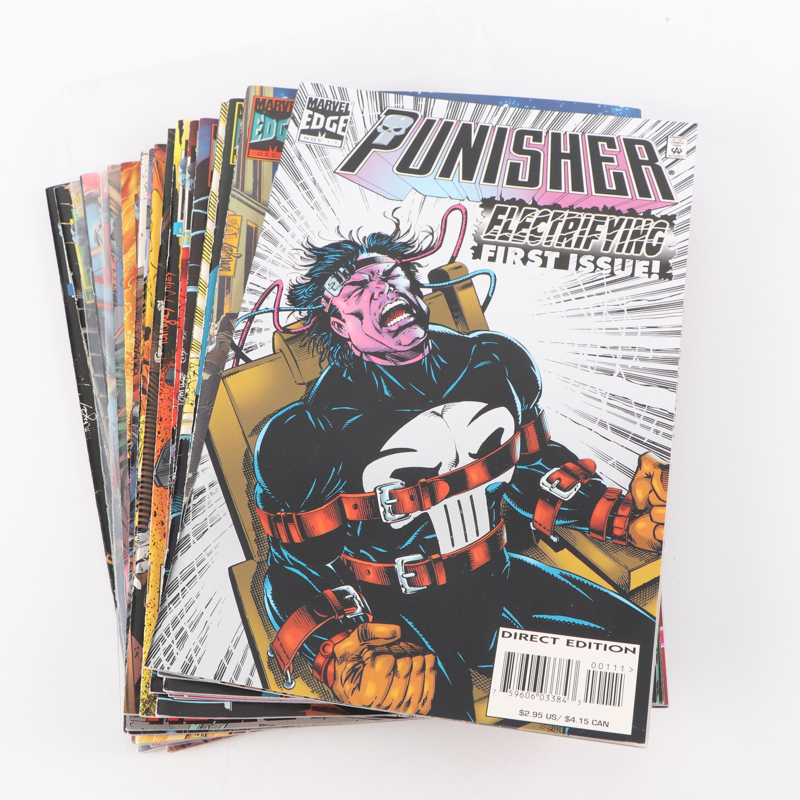 "Modern Age ""The Punisher"" Comic Books"