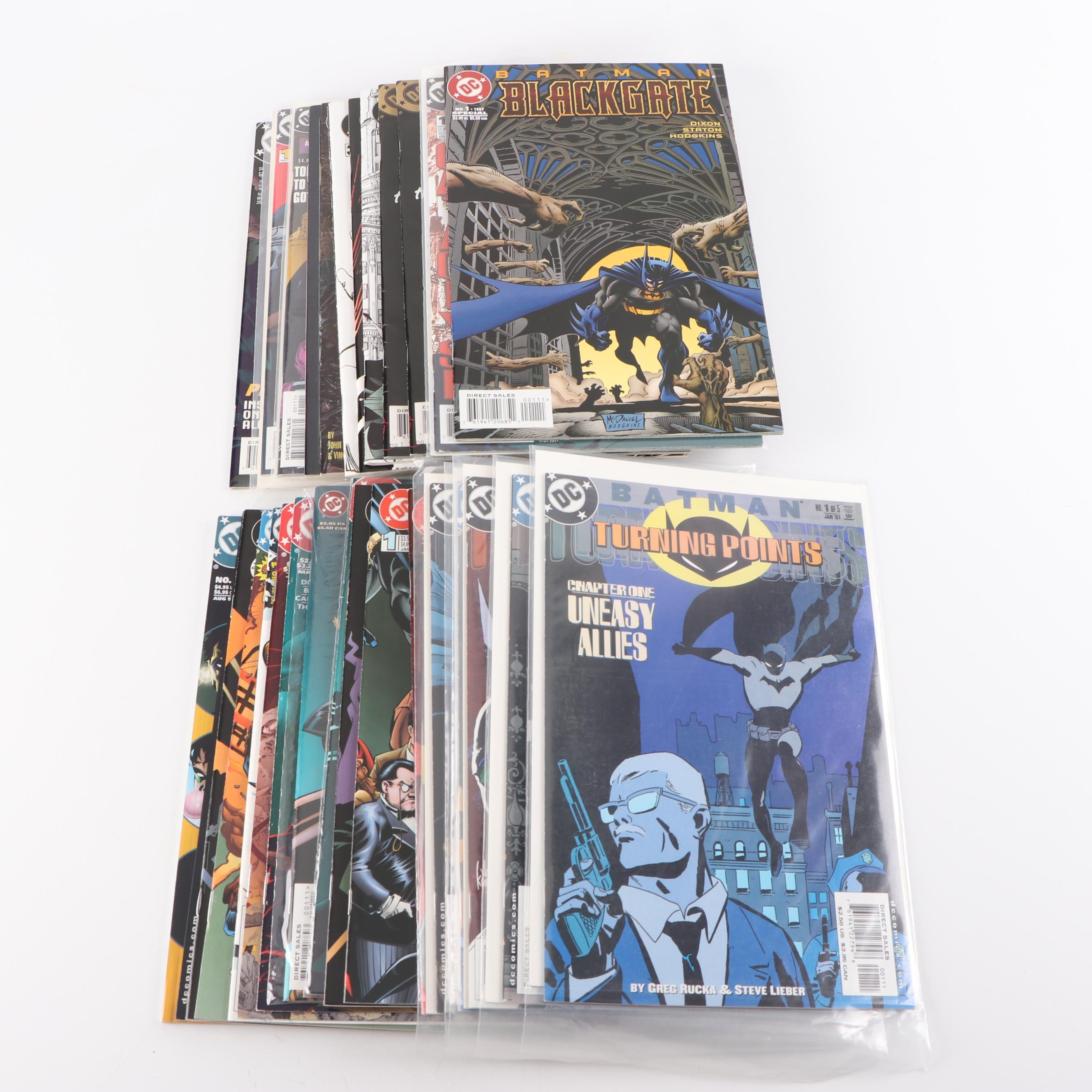 "Modern Age ""Batman"" Comic Books"