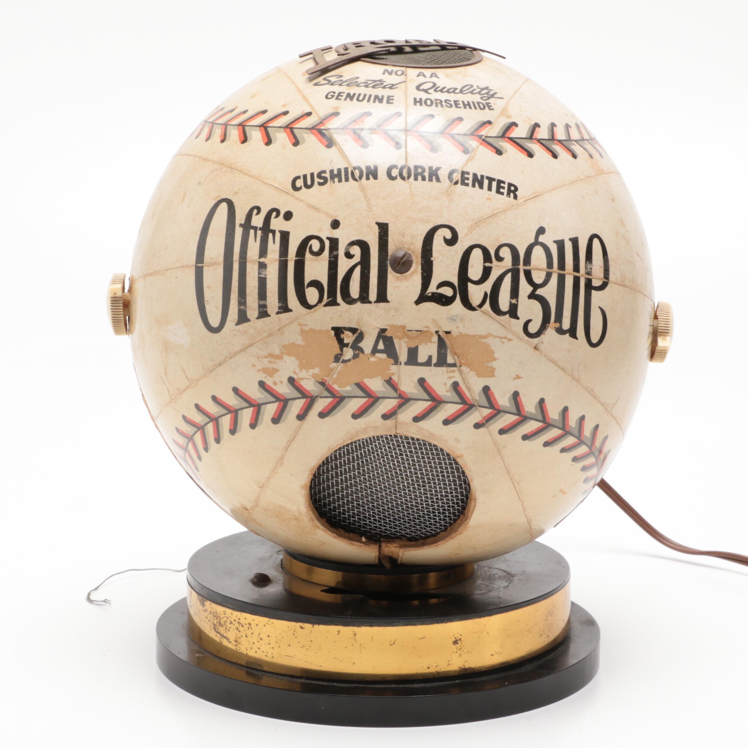1941 Official League Baseball Radio Trophy